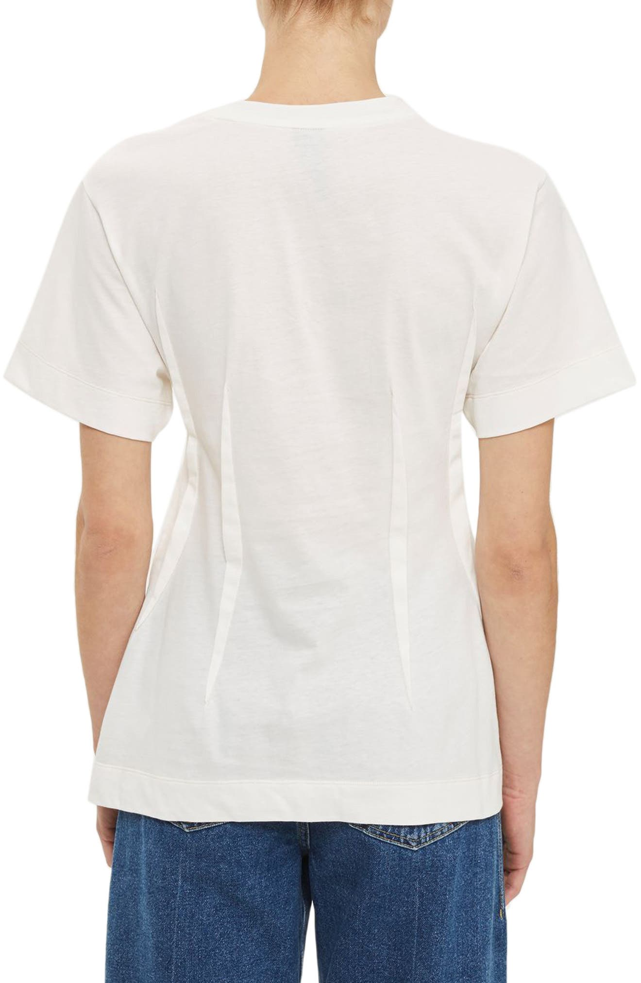 Alternate Image 2  - Topshop Boutique Pintuck Tee
