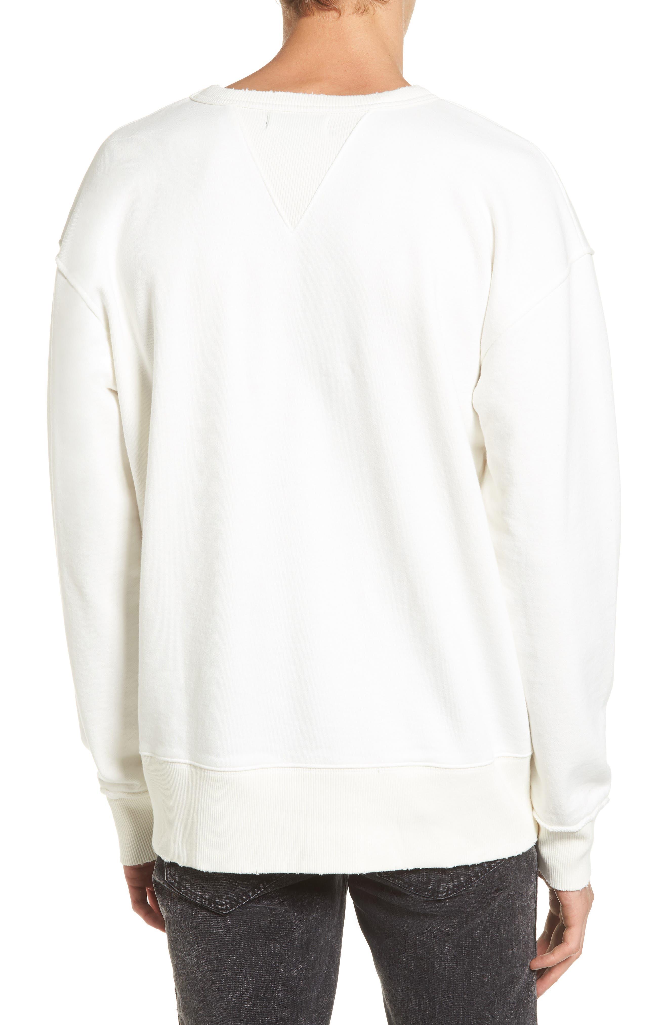 Alternate Image 2  - Treasure & Bond Distressed Sweatshirt