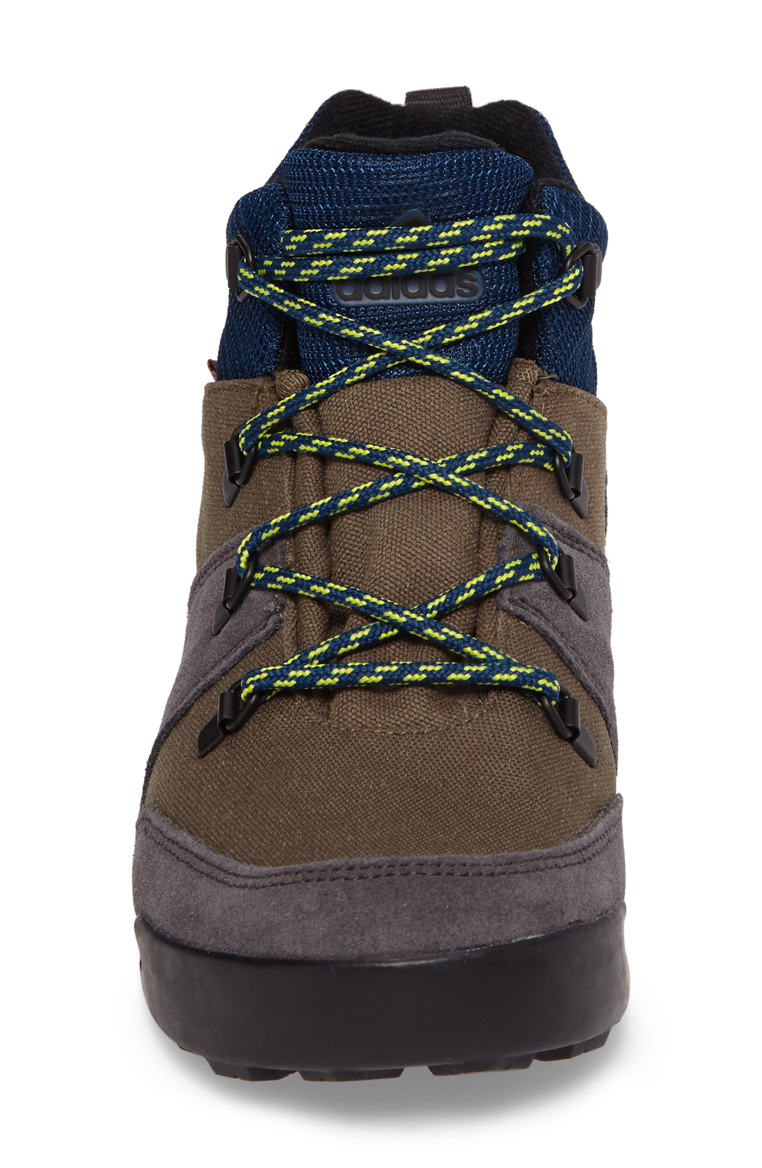 Snowpitch Insulated Sneaker Boot,                             Alternate thumbnail 4, color,                             Cargo/ Black/ Solar Yellow