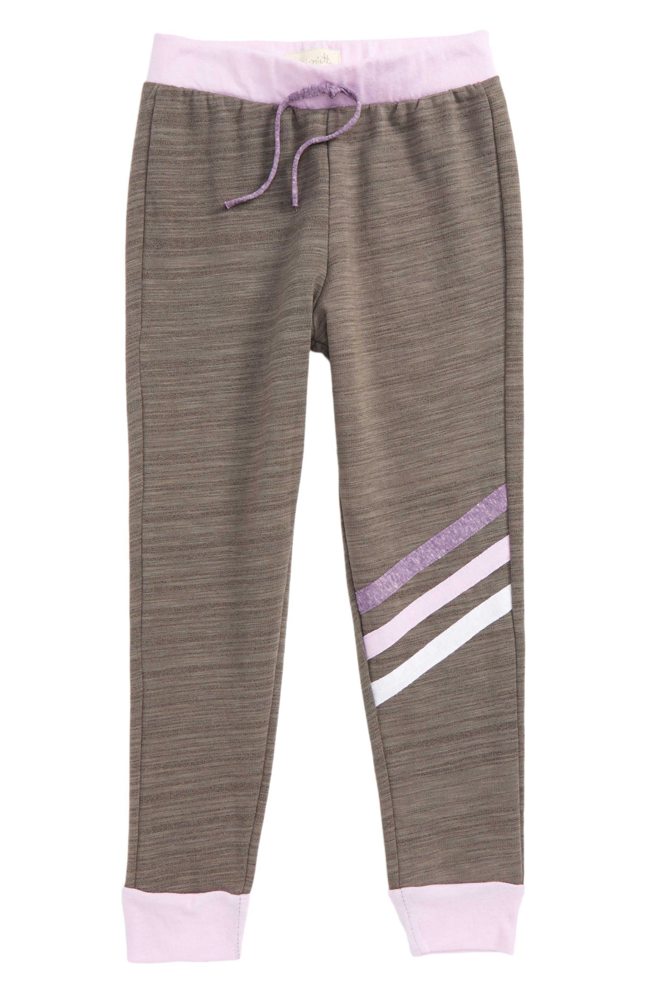 Mia Jogger Pants,                         Main,                         color, Heathers