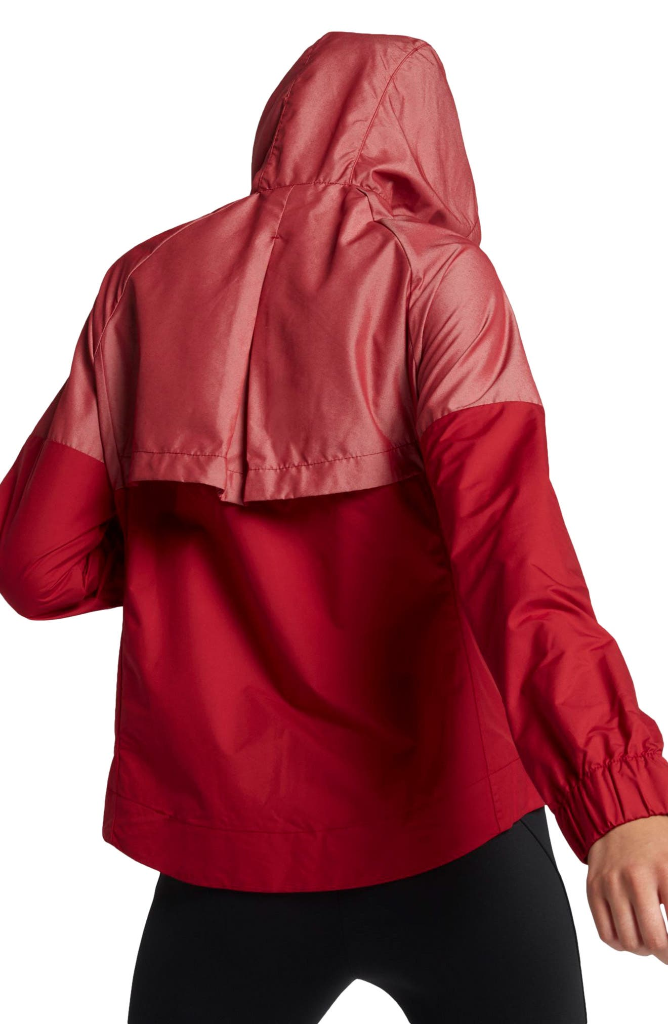 Windrunner Jacket,                             Alternate thumbnail 3, color,                             Tough Red/ Tough Red
