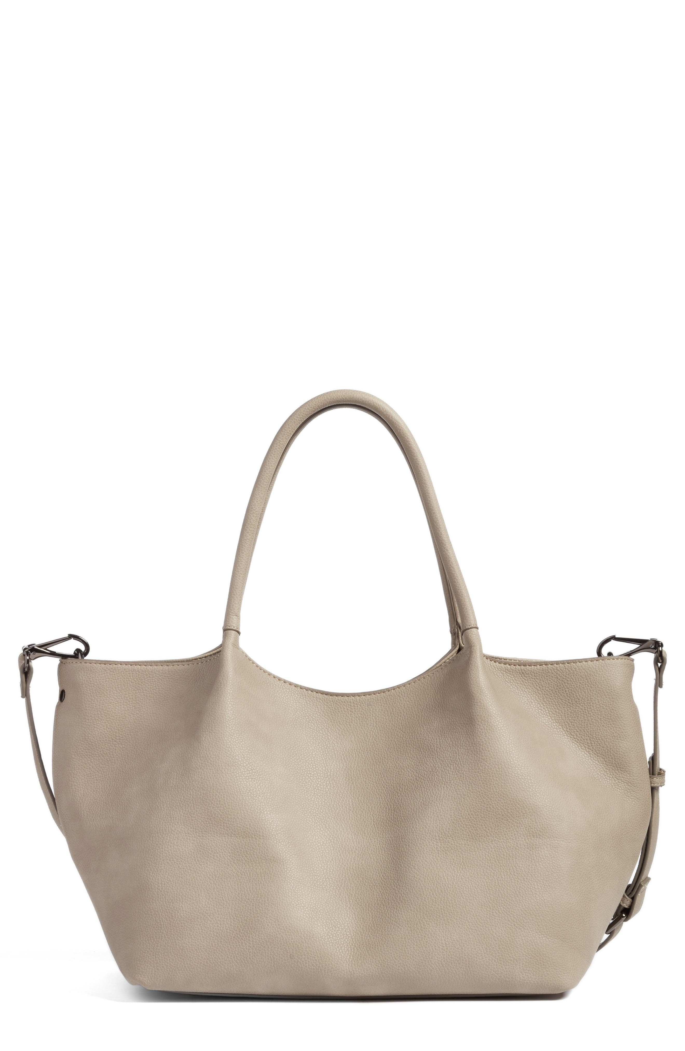 Main Image - Sole Society Cindy Faux Leather Convertible Tote