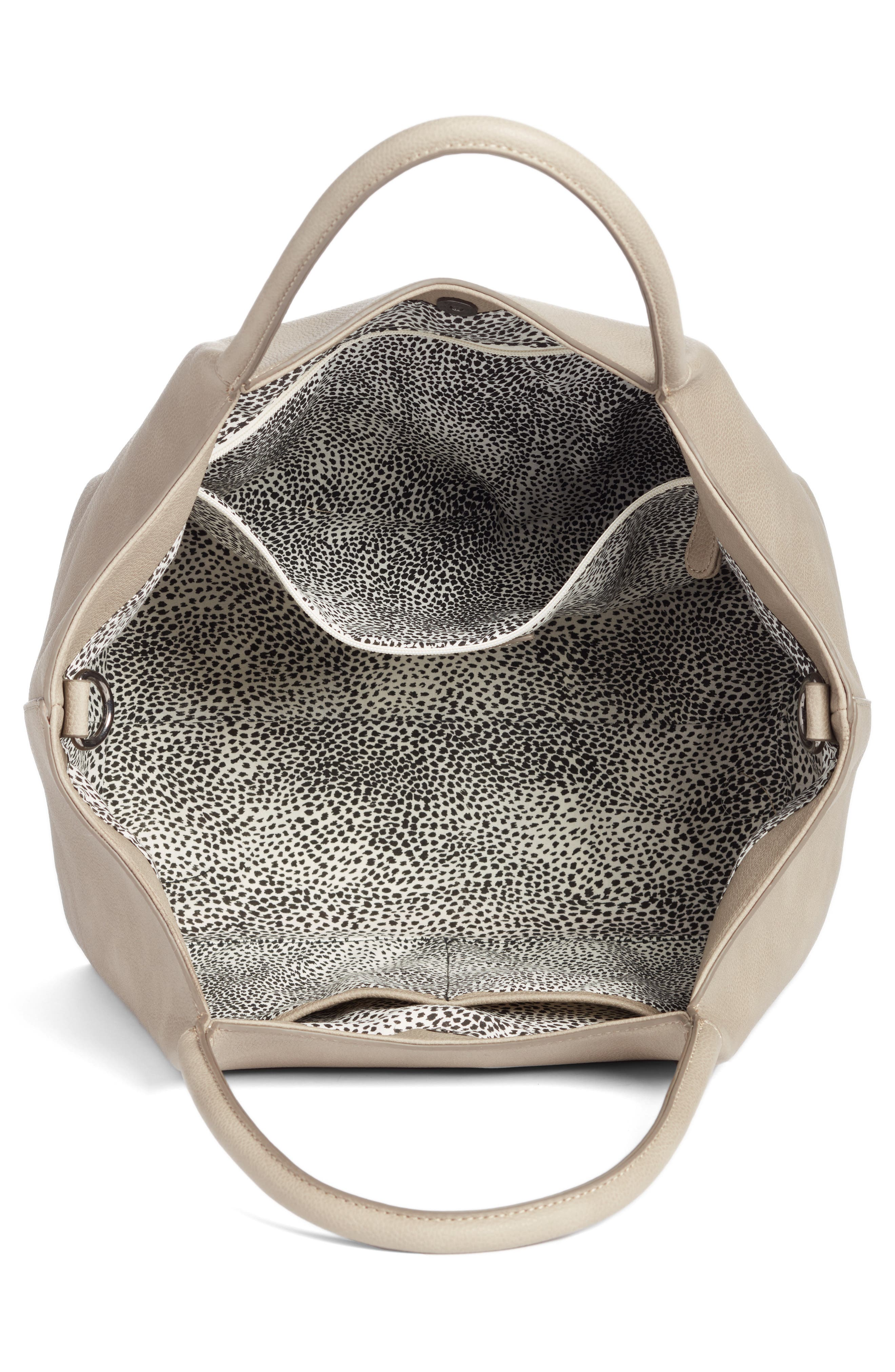 Alternate Image 3  - Sole Society Cindy Faux Leather Convertible Tote