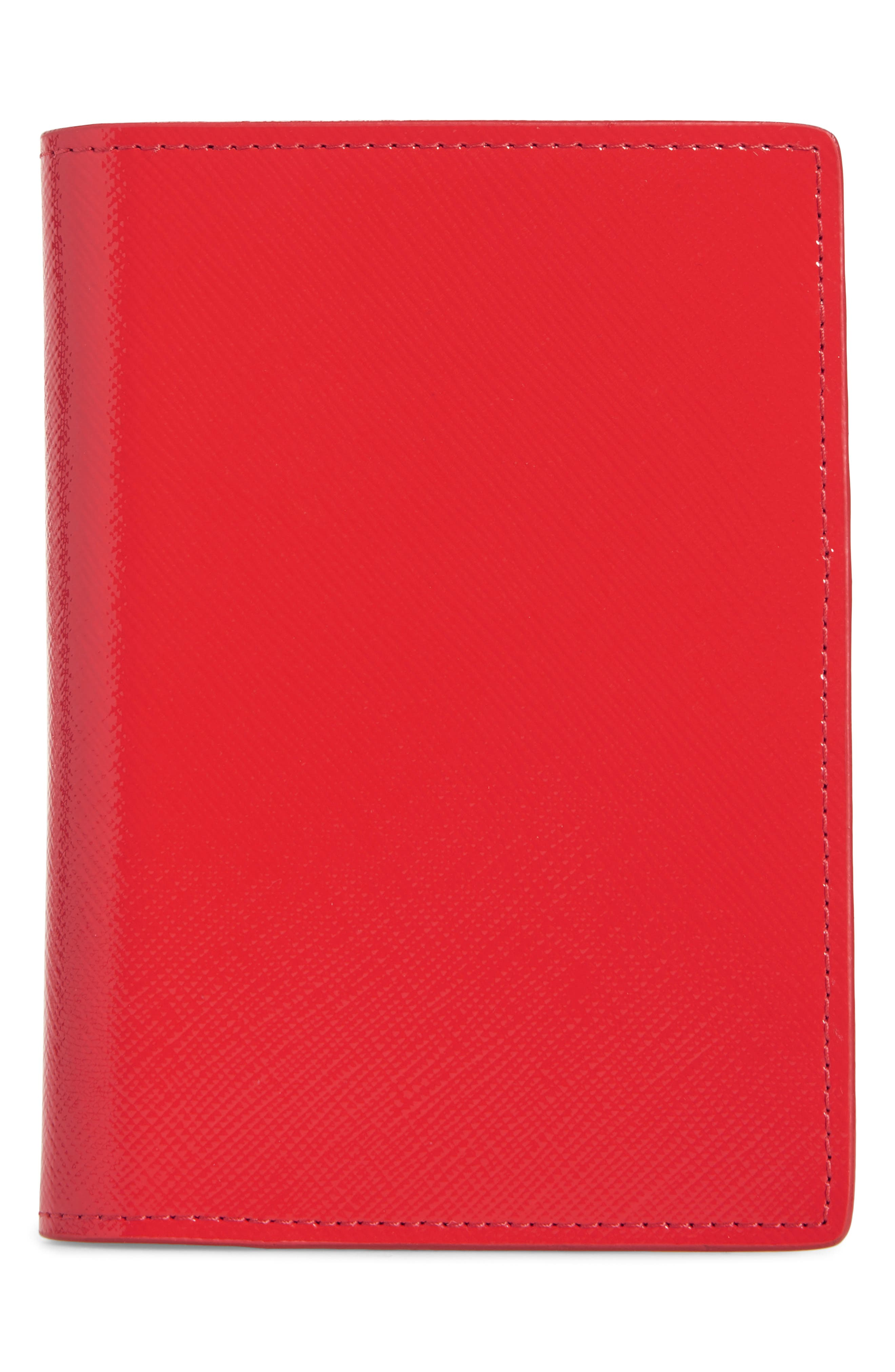 Alternate Image 1 Selected - Nordstrom Leather Passport Case