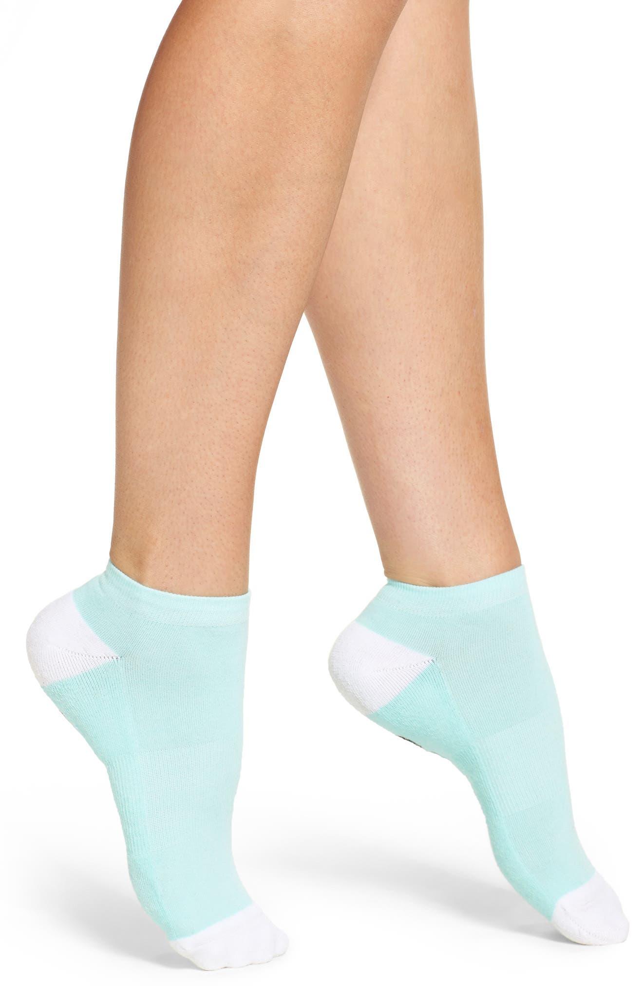 Mermaid Vibes Ankle Socks,                             Alternate thumbnail 2, color,                             Mint