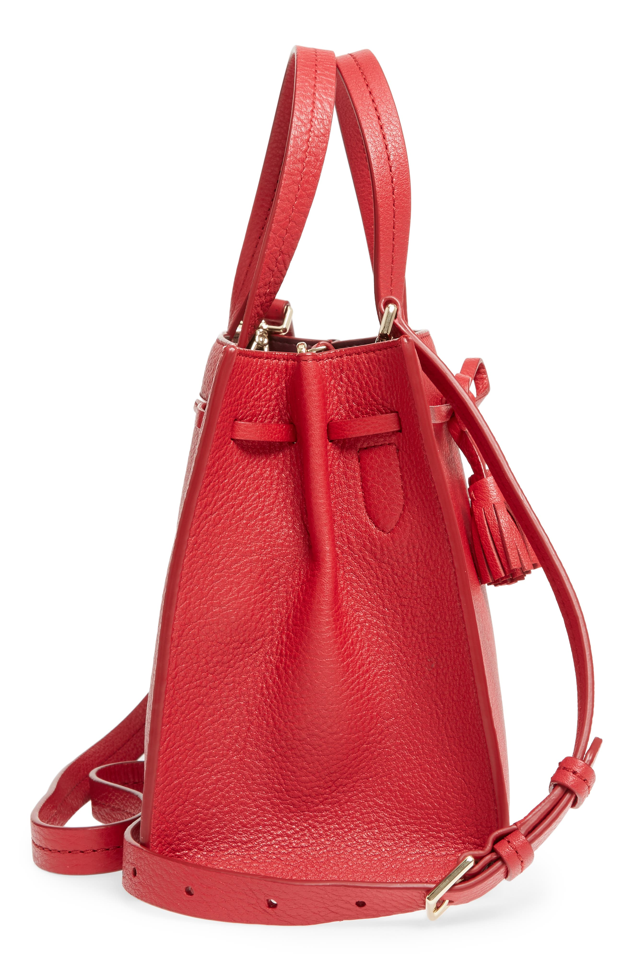 Alternate Image 4  - kate spade new york hayes street small isobel leather satchel