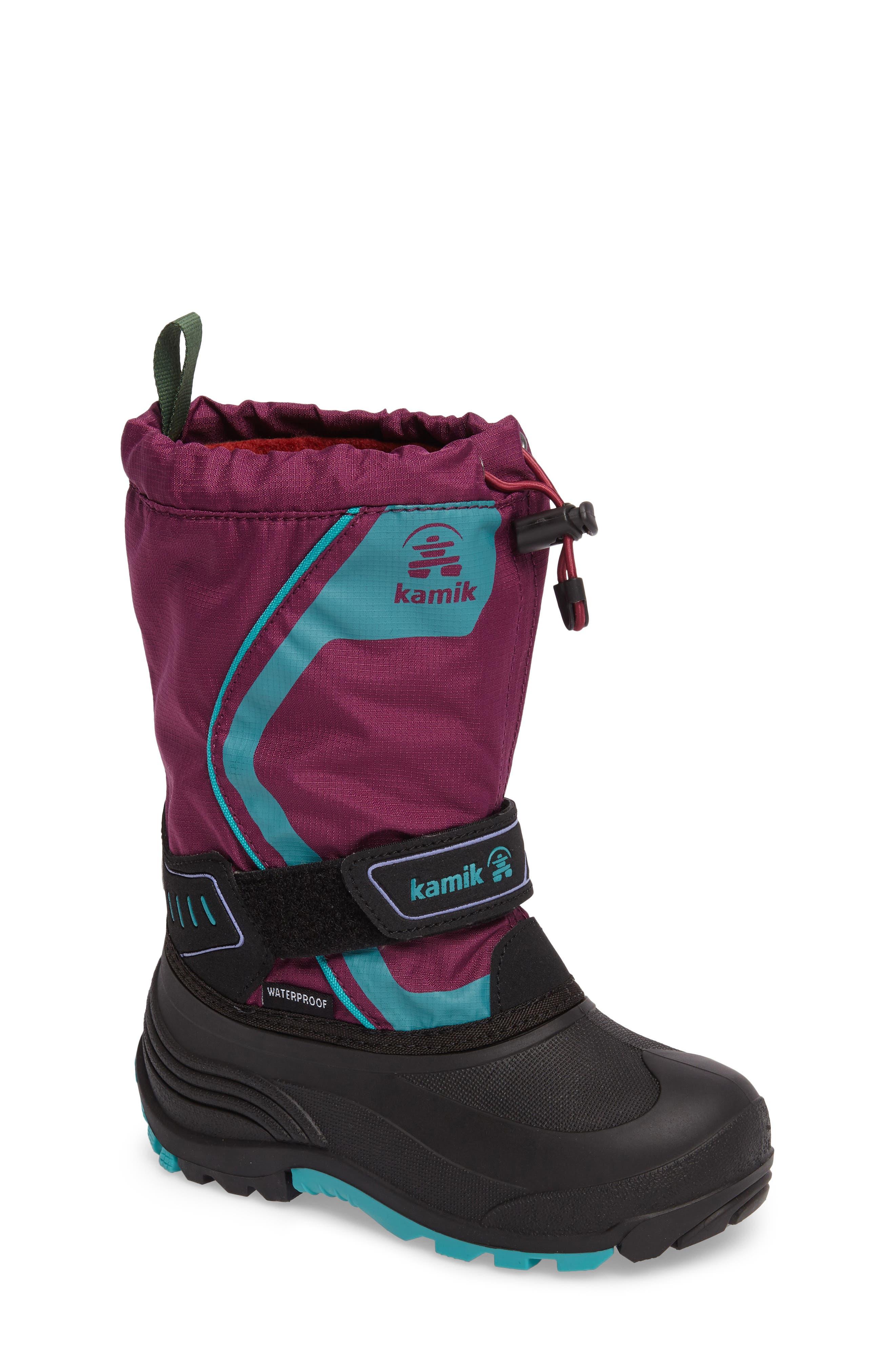Kamik Snowcoast3 Waterproof Snow Boot (Toddler, Little Kid & Big Kid)