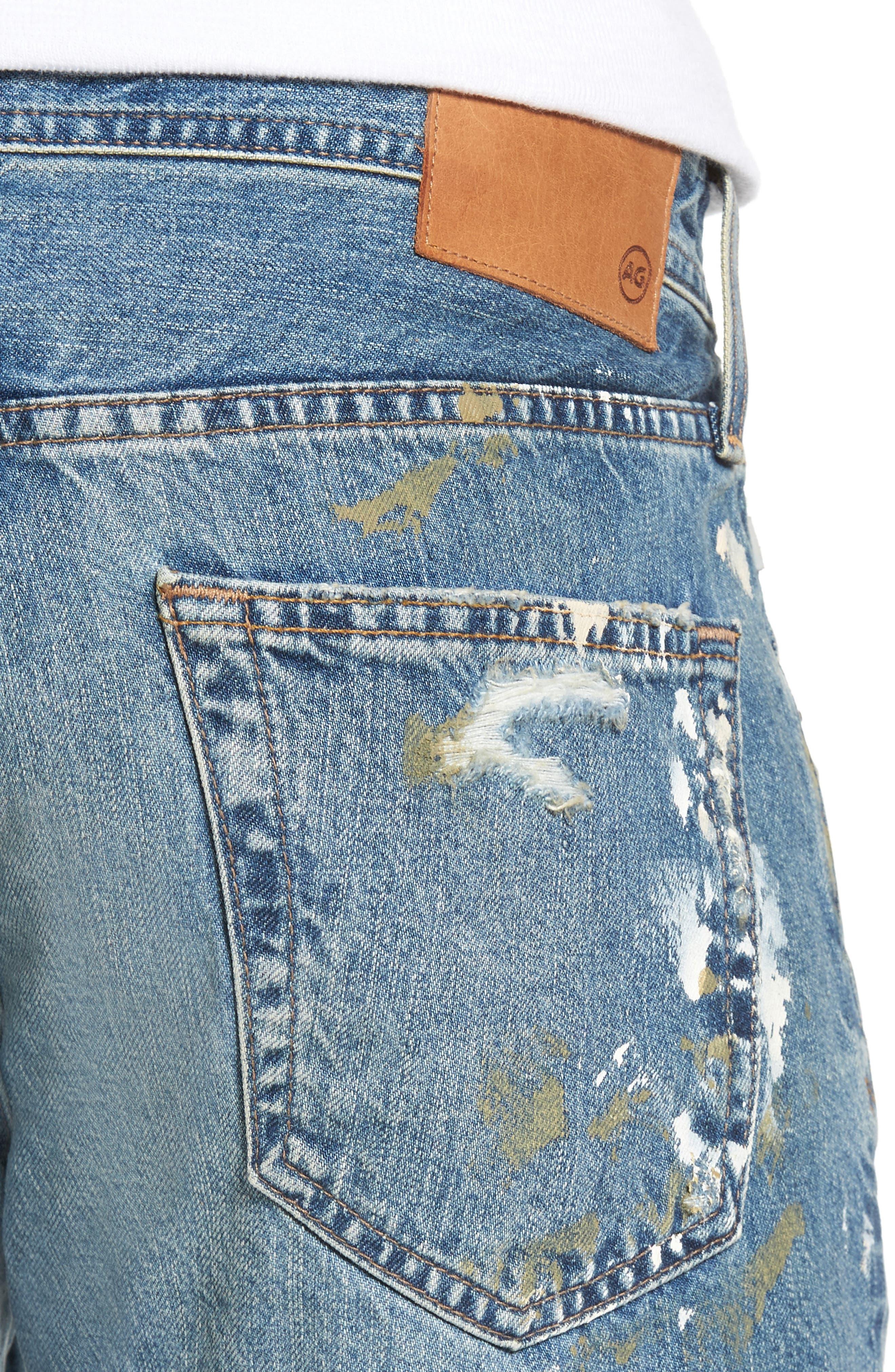 Tellis Modern Slim Fit Jeans,                             Alternate thumbnail 4, color,                             18 Years Carpenter