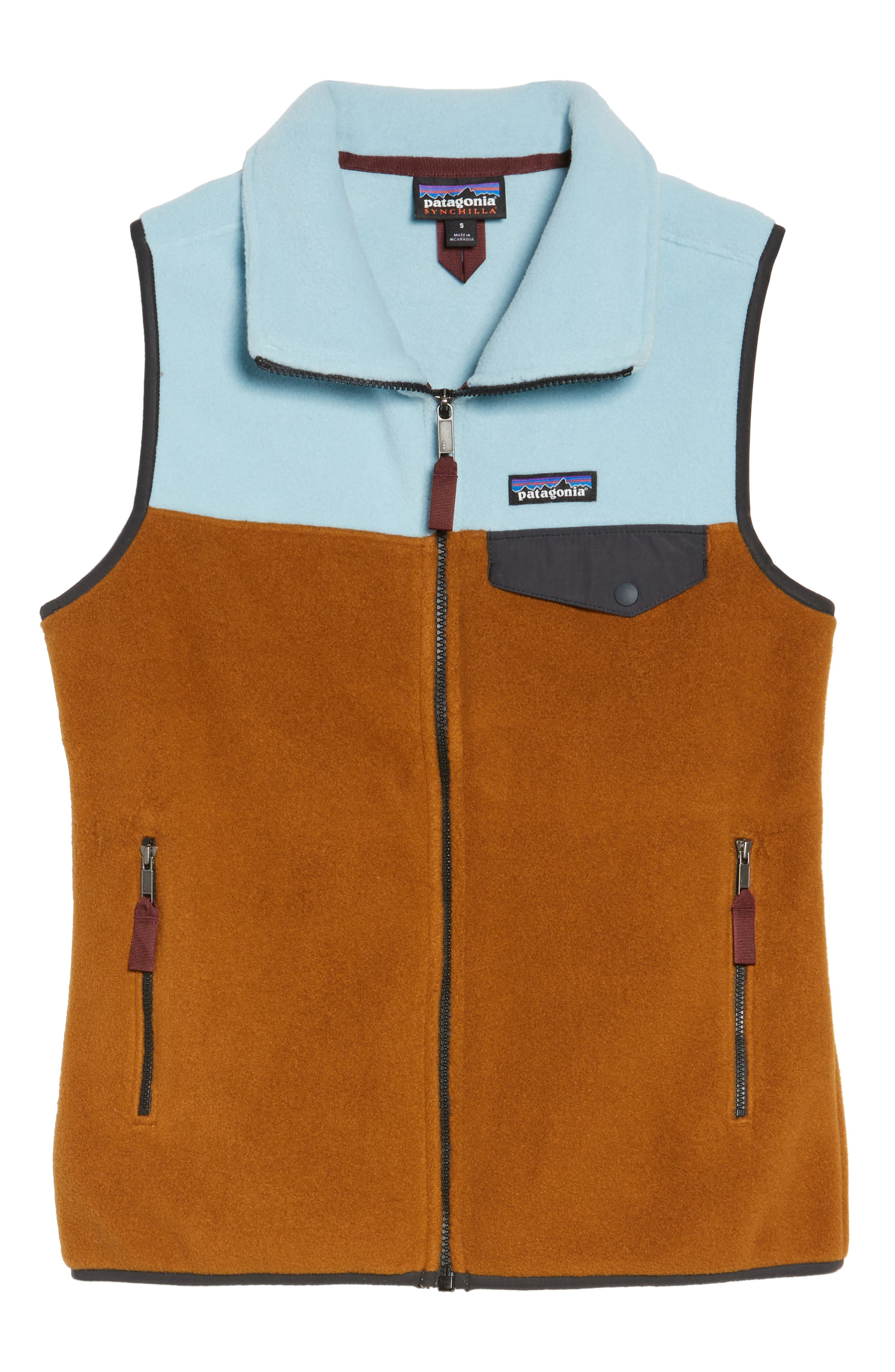 Alternate Image 1 Selected - Patagonia Snap-T® Fleece Vest