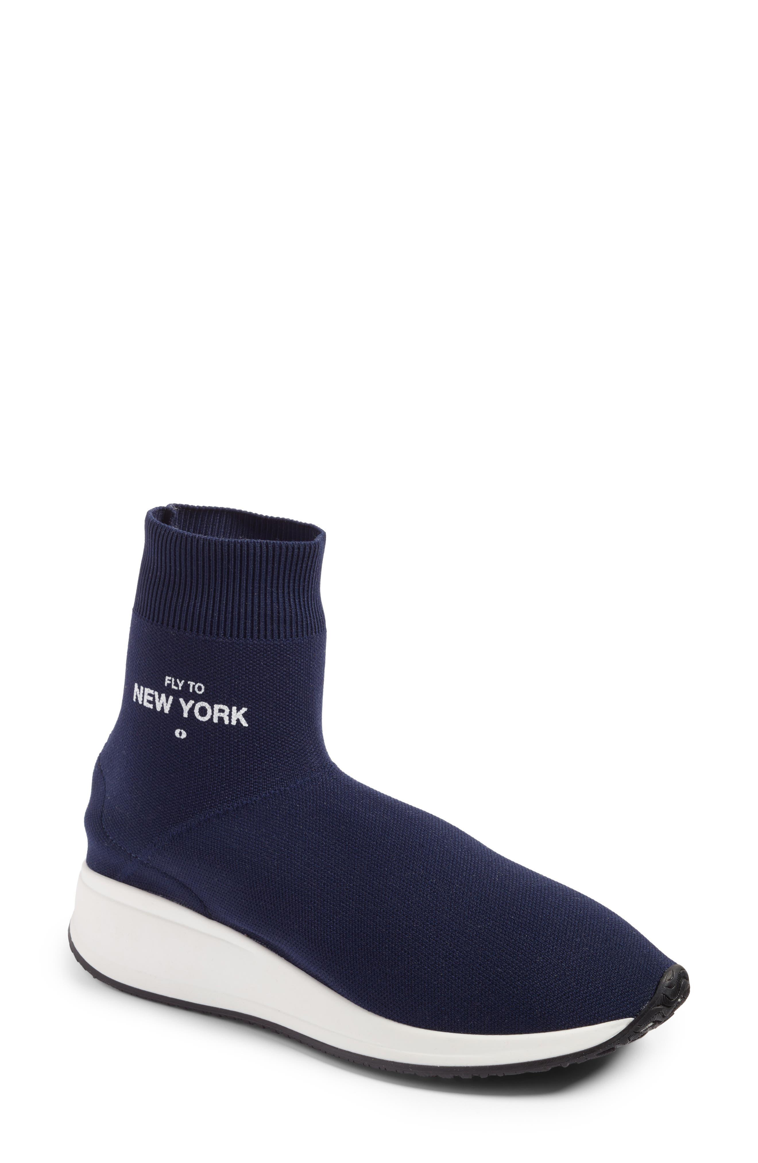 JOSHUA SANDERS Fly To High Top Sock Sneaker (Women)
