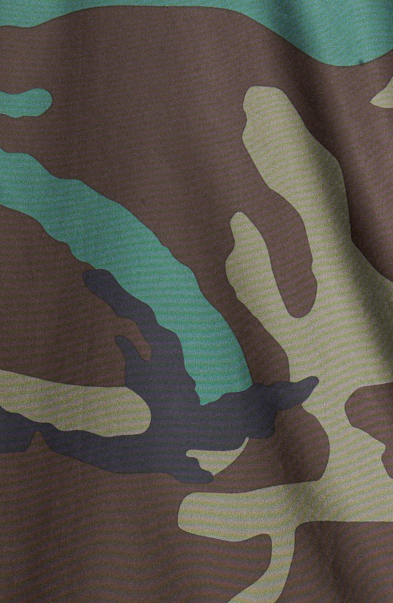Shield Coach's Jacket,                             Alternate thumbnail 5, color,                             Medium Olive/ Black