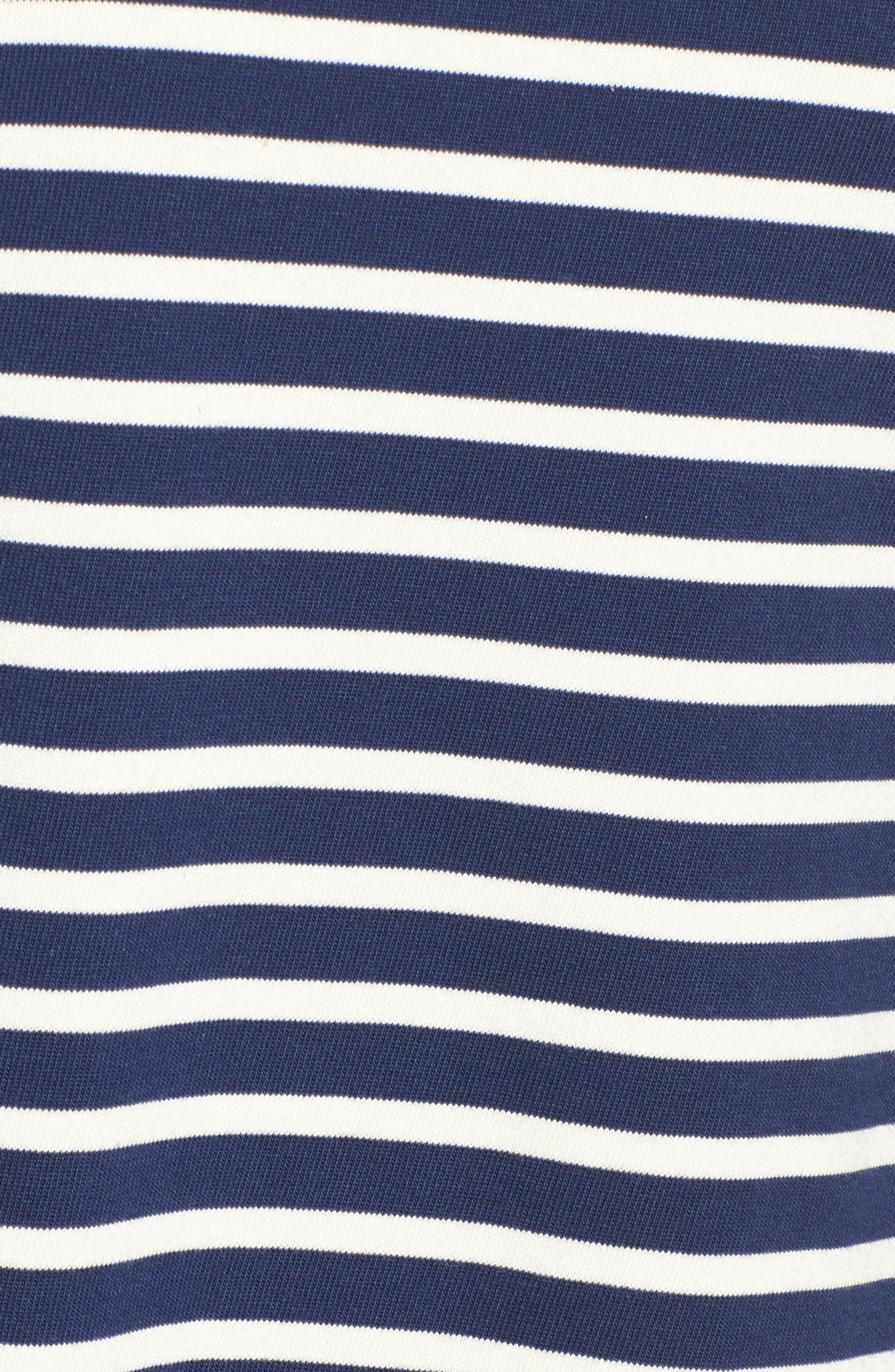 Alternate Image 5  - vineyard vines Mixed Stripe Knit Dress