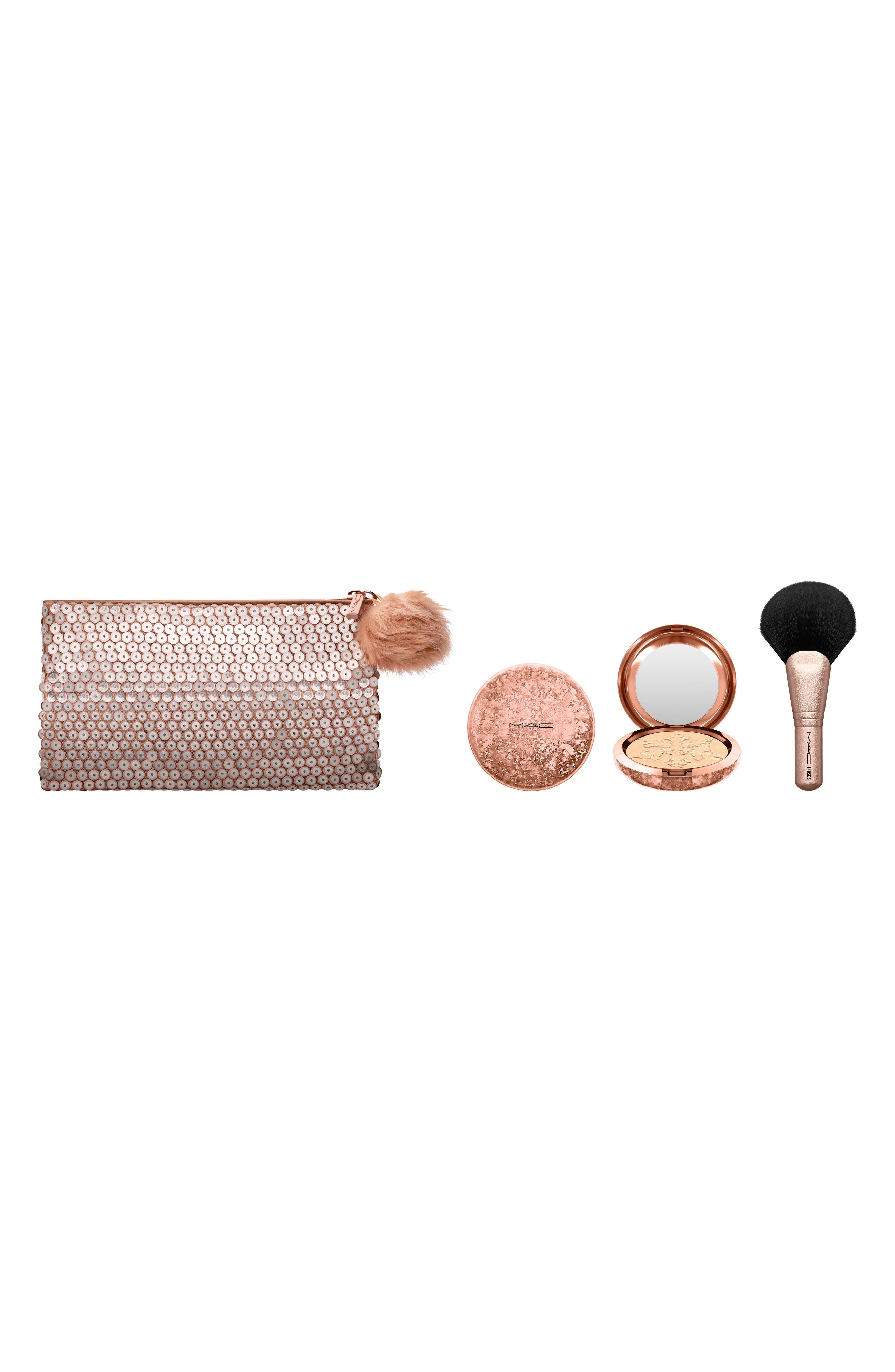 Main Image - MAC Snow Ball Peach Face Bag Collection (Nordstrom Exclusive) ($85 Value)