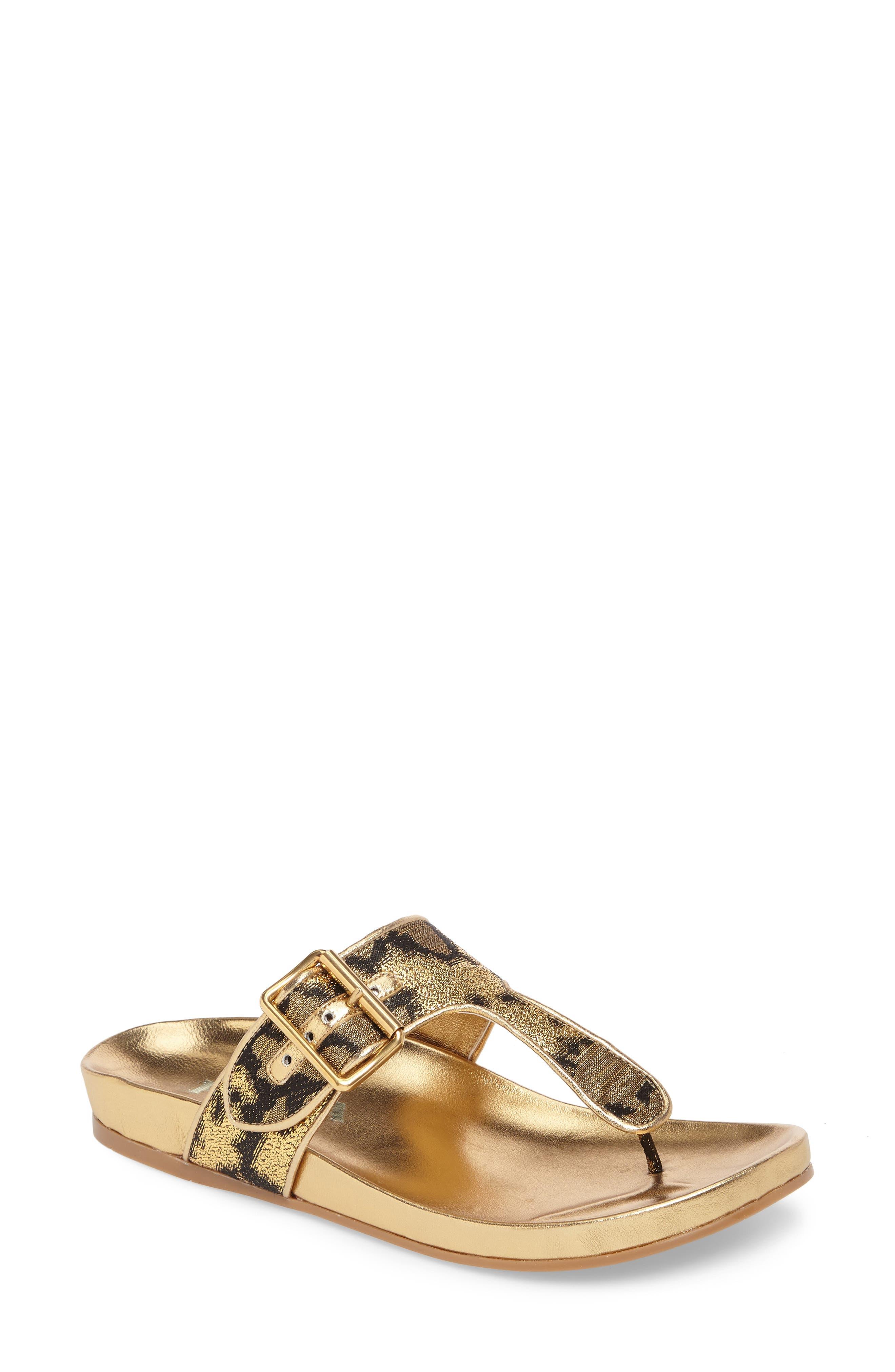 Alternate Image 1 Selected - Prada Glitter Thong Sandal (Women)
