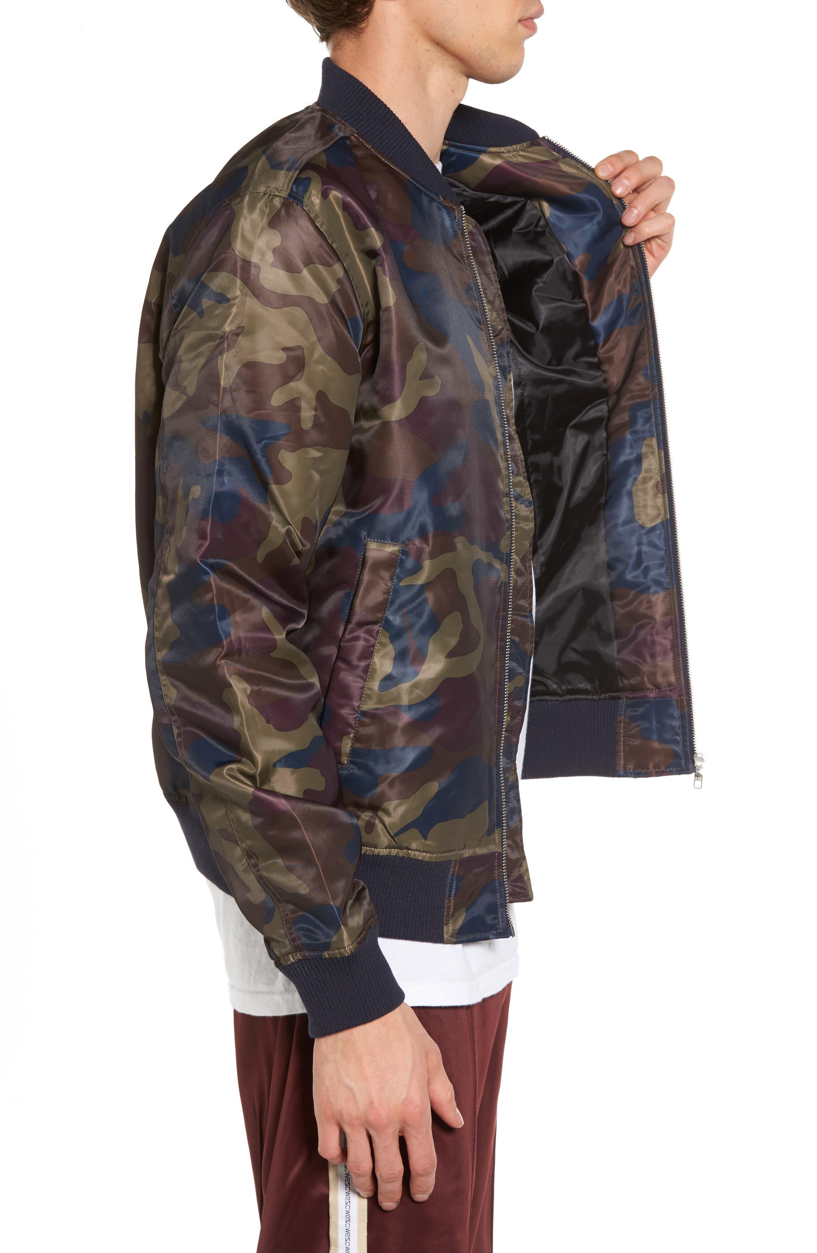 Alternate Image 3  - WeSC The Camo Bomber Jacket
