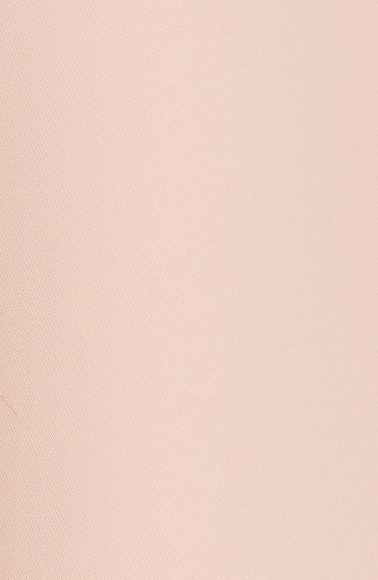Tie Front Wrap Pants,                             Alternate thumbnail 5, color,                             Blush Pink