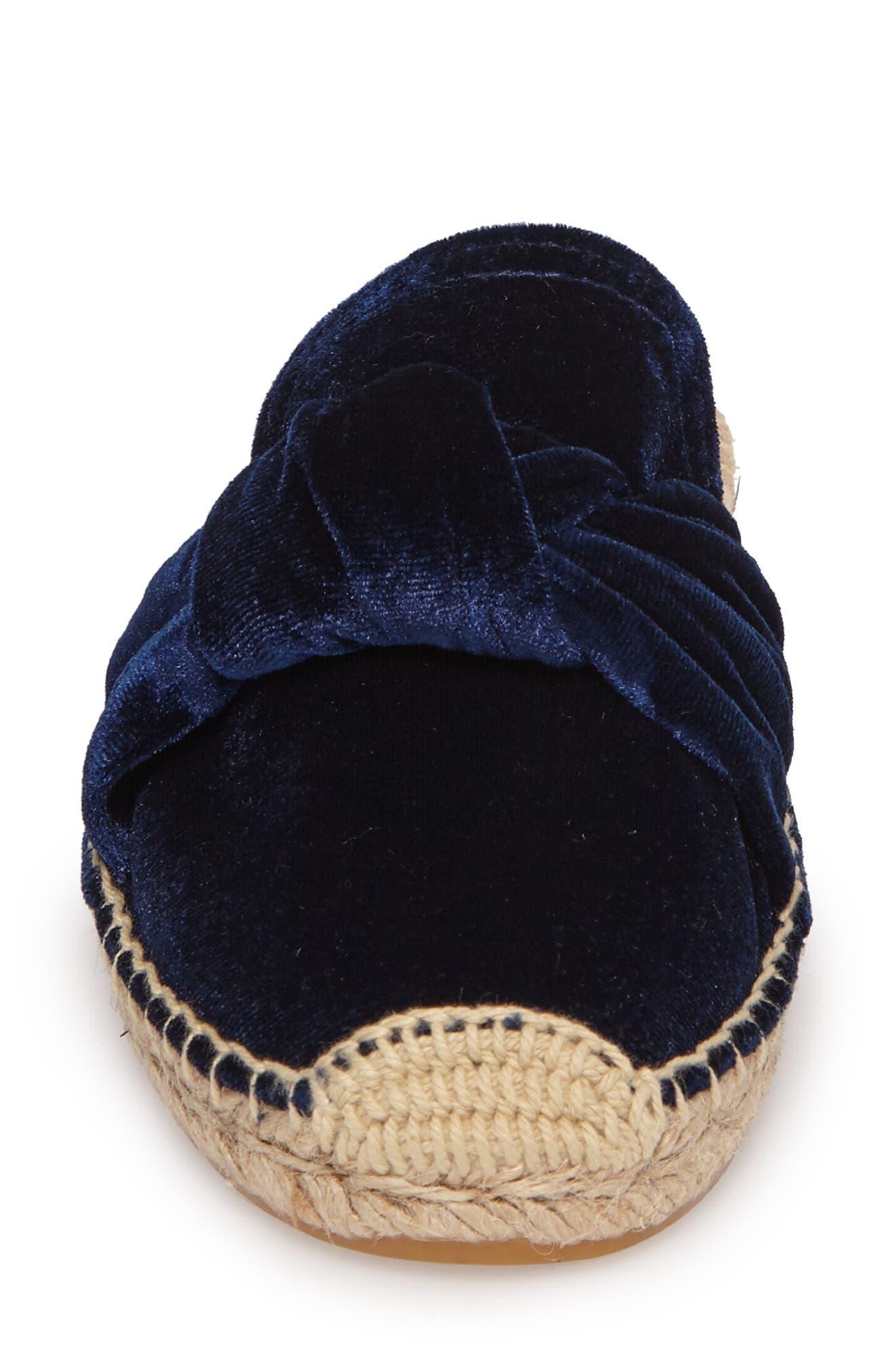 Alternate Image 3  - Soludos Knotted Velvet Loafer Mule (Women)