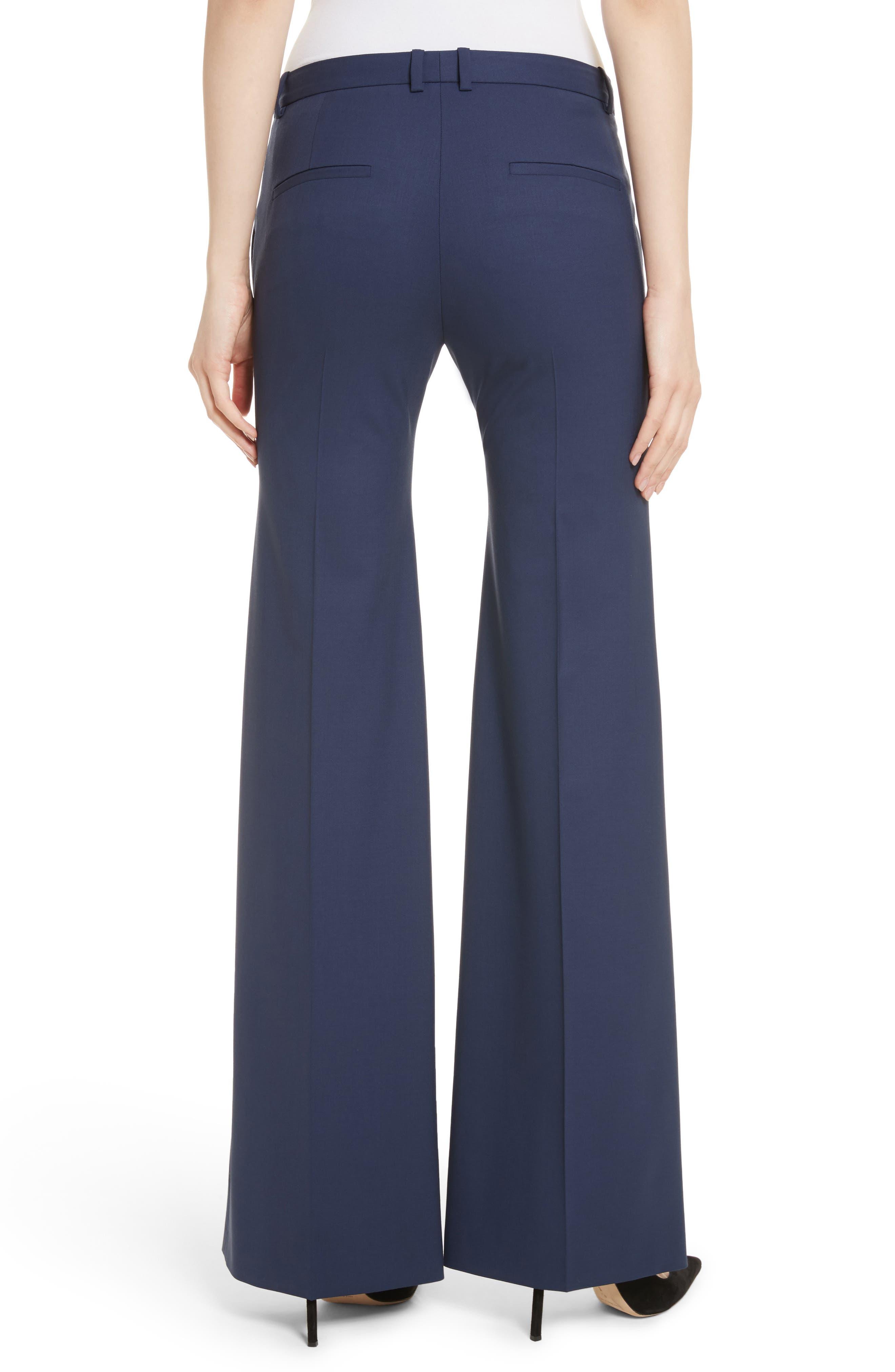 Alternate Image 3  - Theory Demetria 2 Flare Leg Good Wool Suit Pants