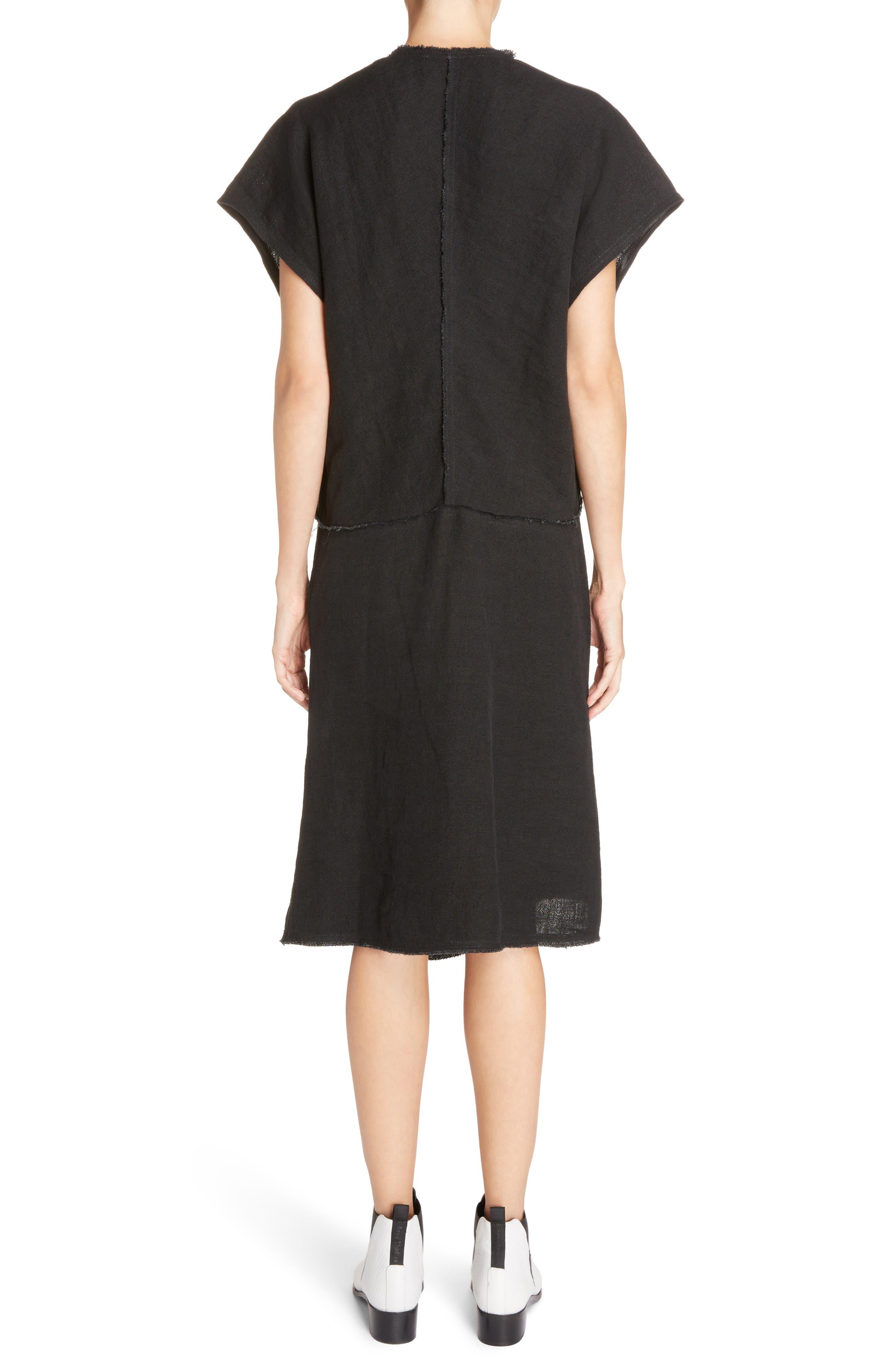 Jessa Shirtdress,                             Alternate thumbnail 3, color,                             Black