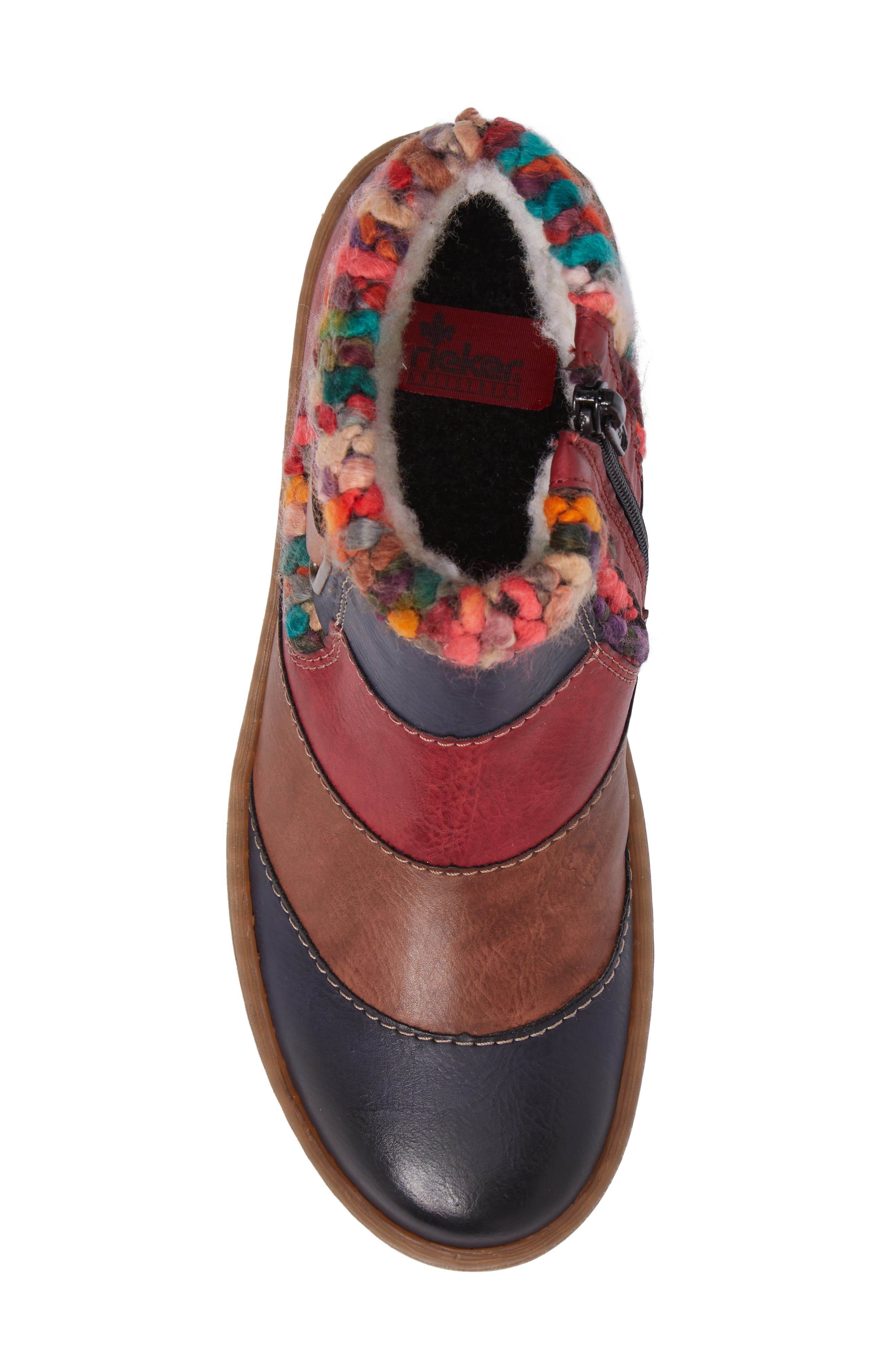 Felicitas 82 Boot,                             Alternate thumbnail 5, color,                             Ocean Multi Faux Leather