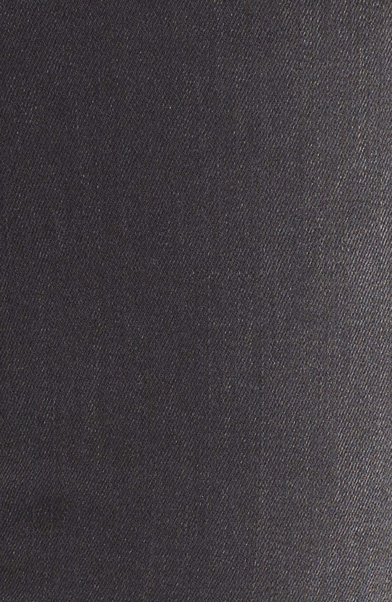 Embellished Ripped Skinny Jeans,                             Alternate thumbnail 6, color,                             Vivaldi