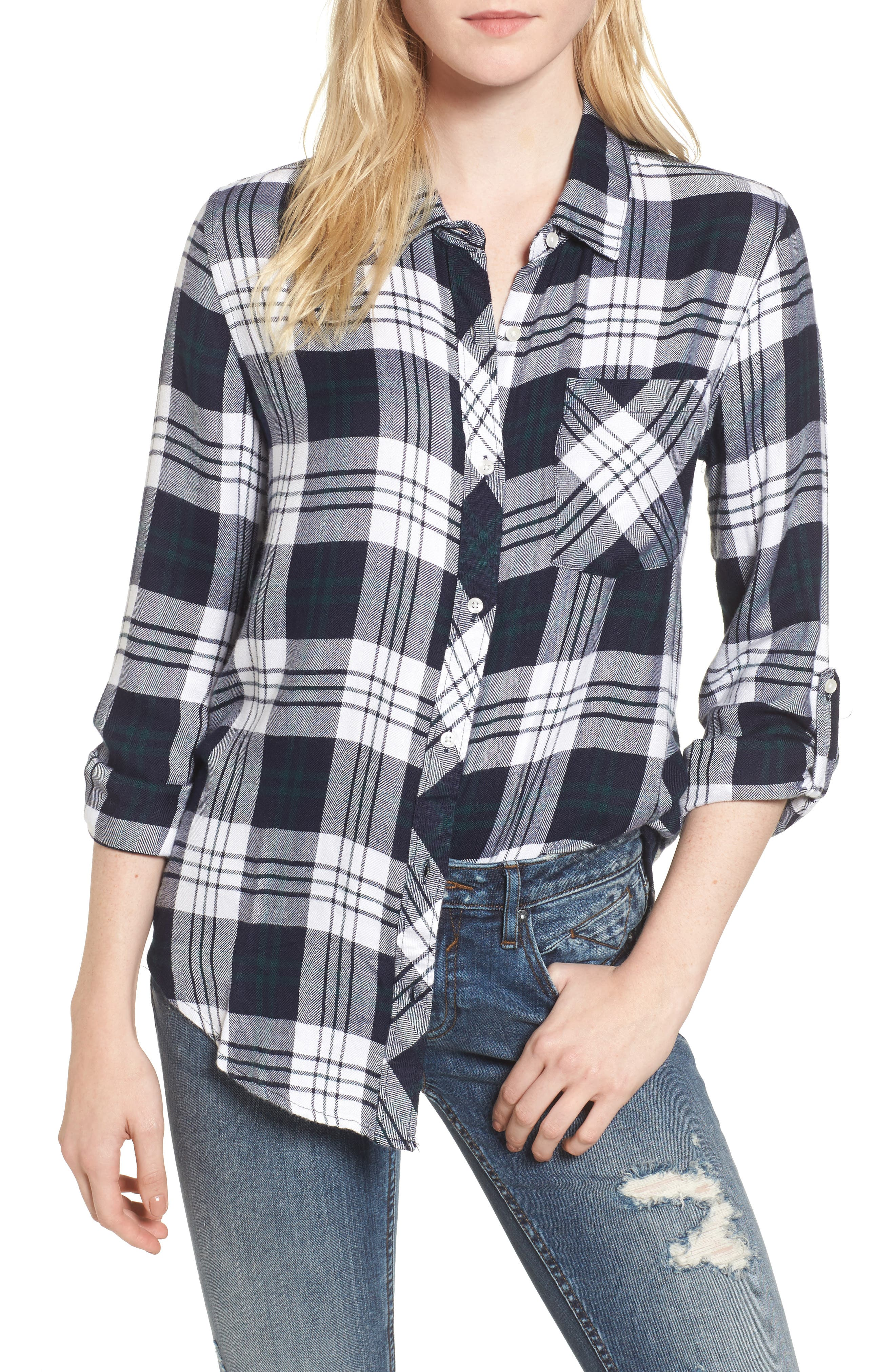 Alternate Image 1 Selected - Thread & Supply Kiana Plaid Shirt