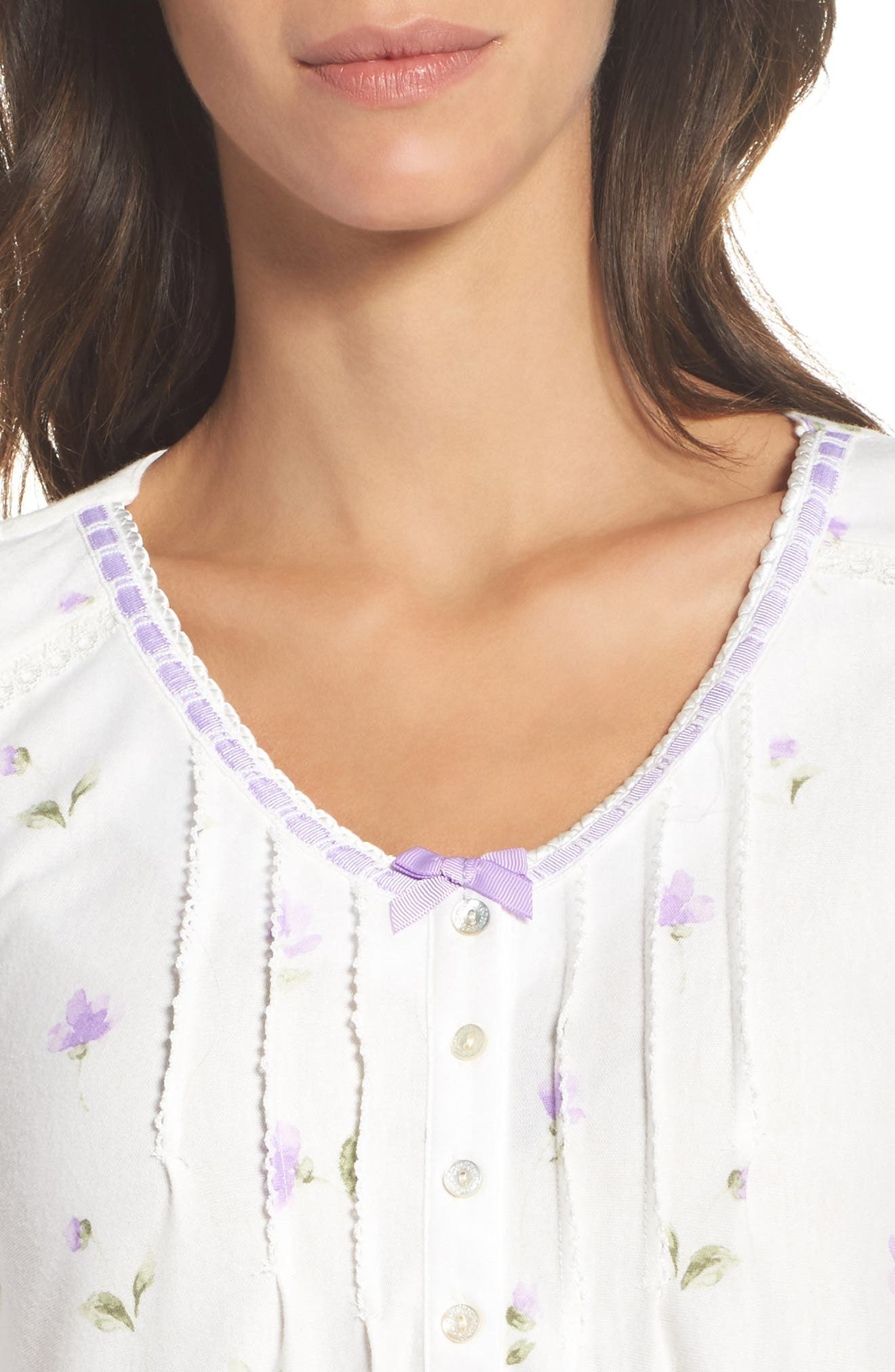Alternate Image 5  - Carole Hochman Long Nightgown