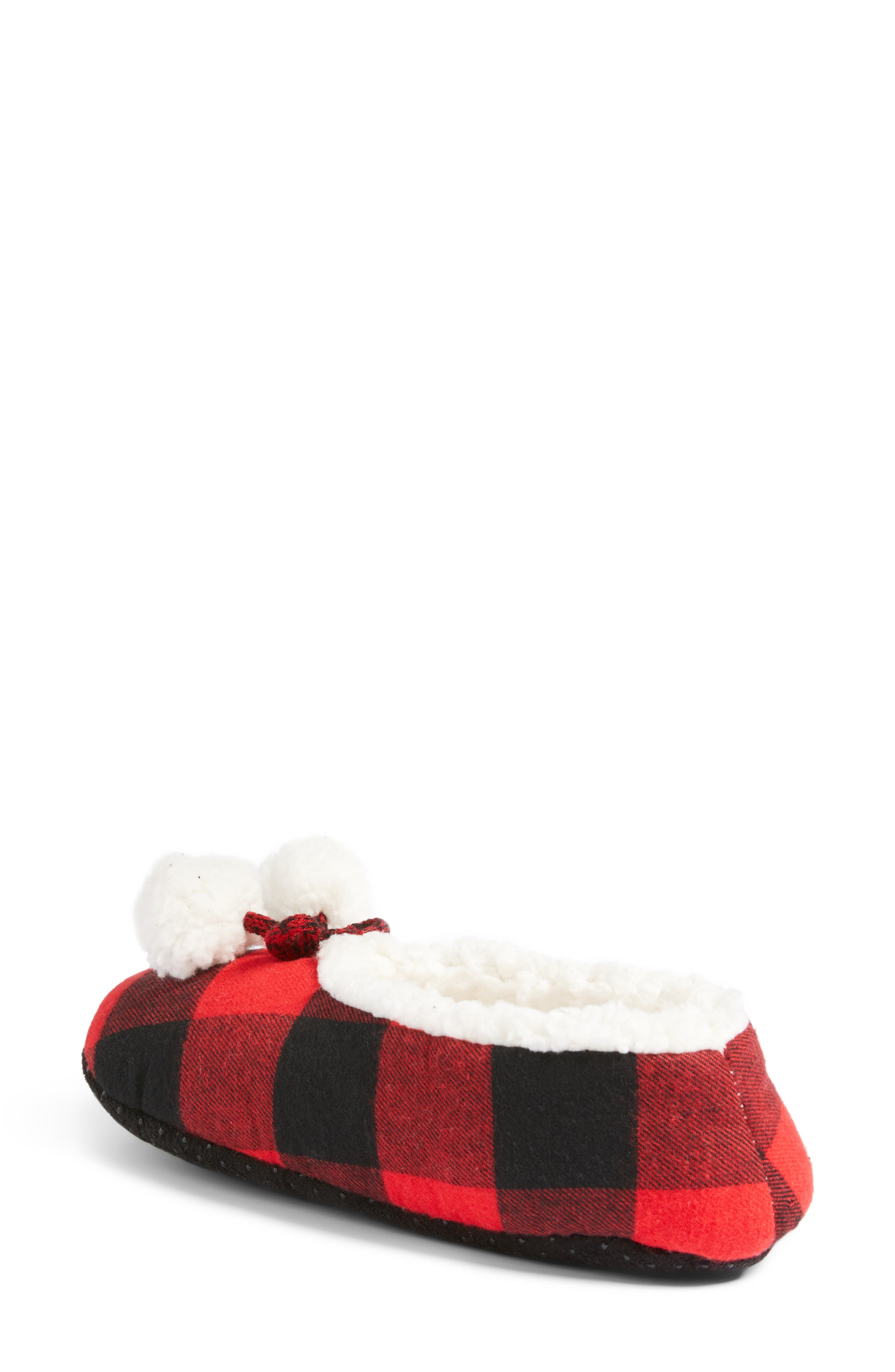 Alternate Image 2  - Make + Model Plaid Slippers