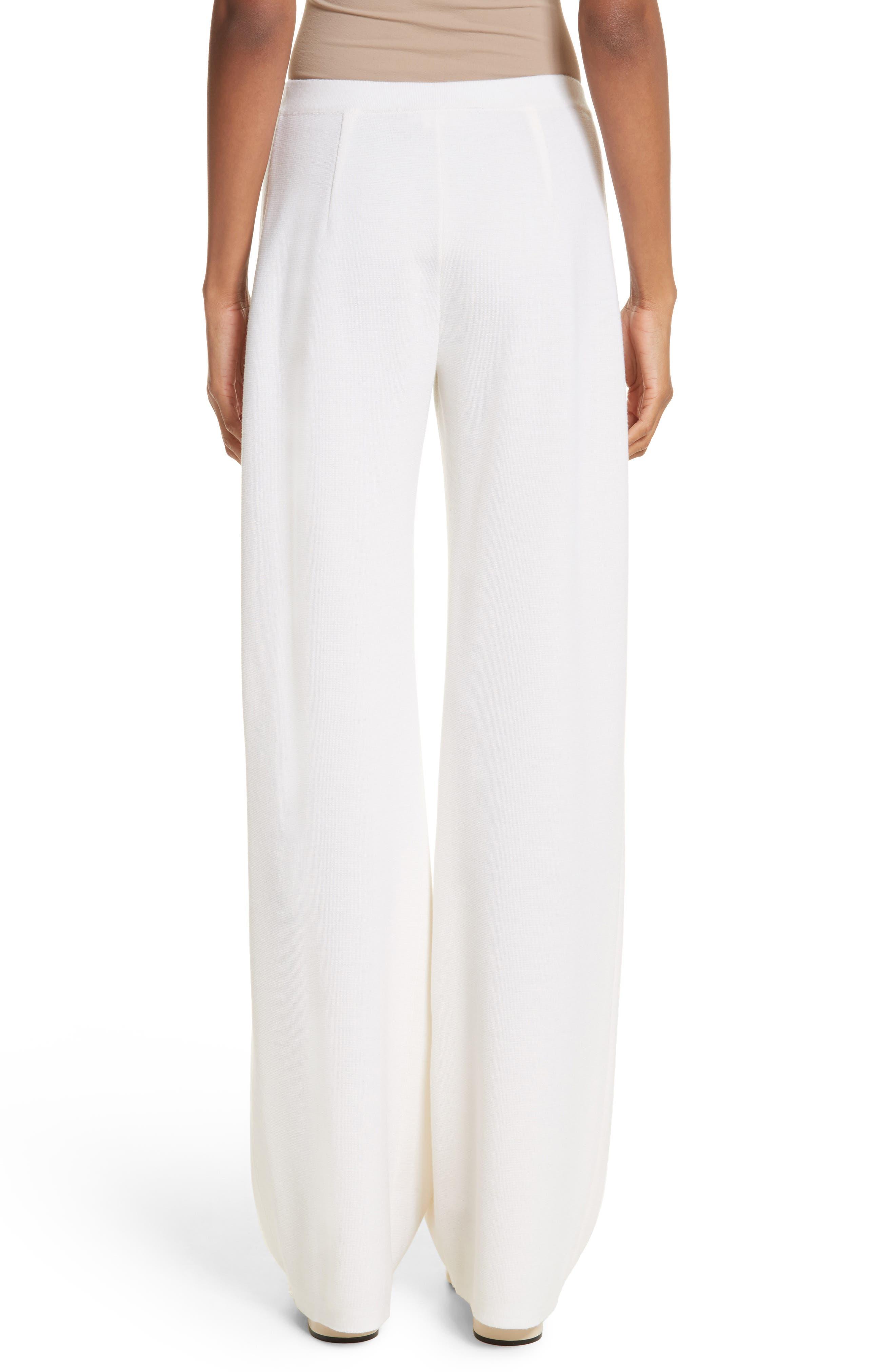 Brando Wool Wide Leg Pants,                             Alternate thumbnail 6, color,                             Silk