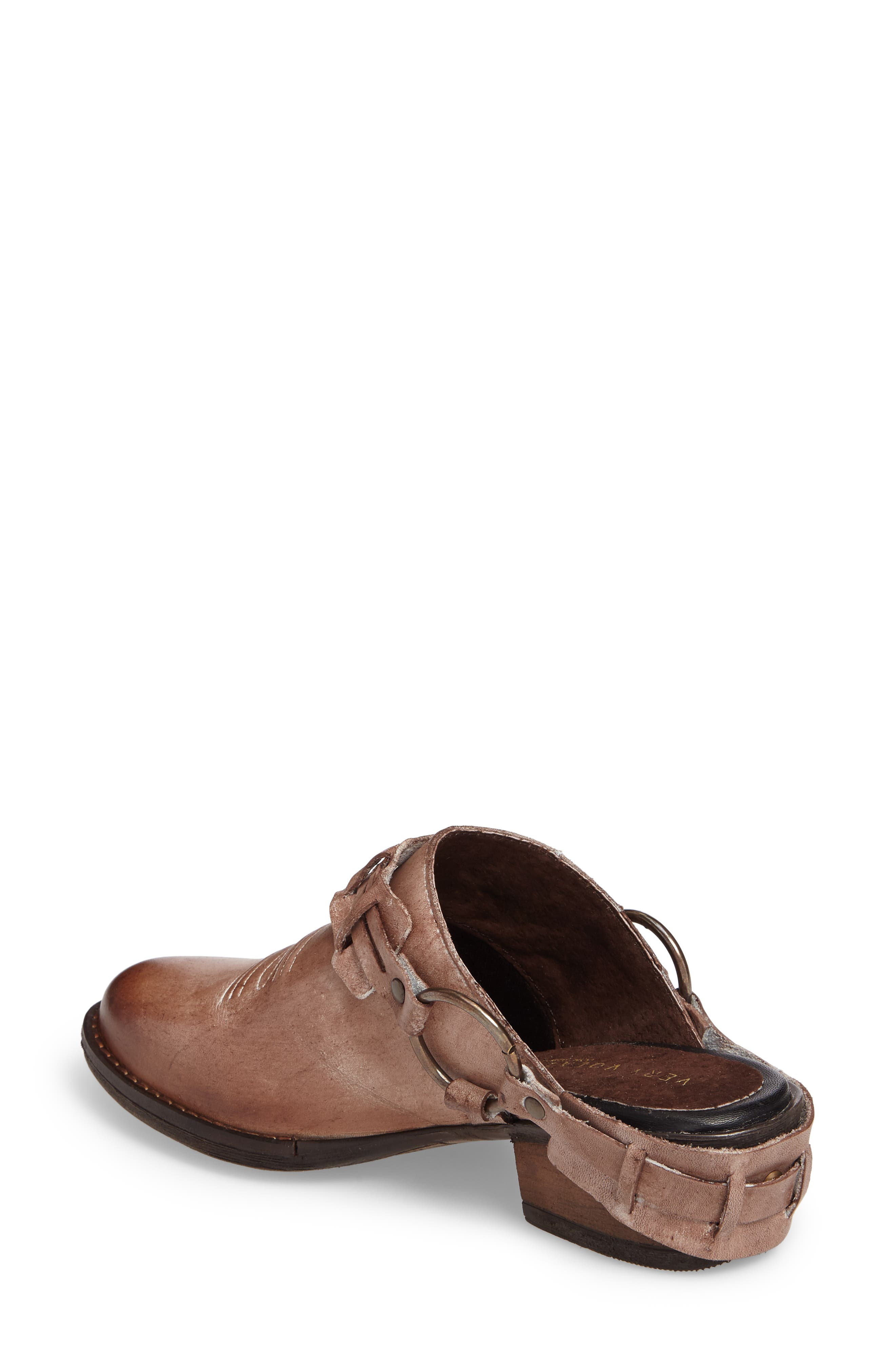 Eriko Western Harness Mule,                             Alternate thumbnail 2, color,                             Brown