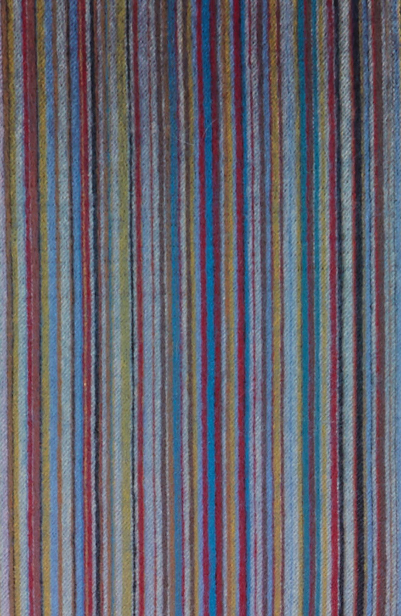 Cashmere Scarf,                             Alternate thumbnail 3, color,                             Blue Multi