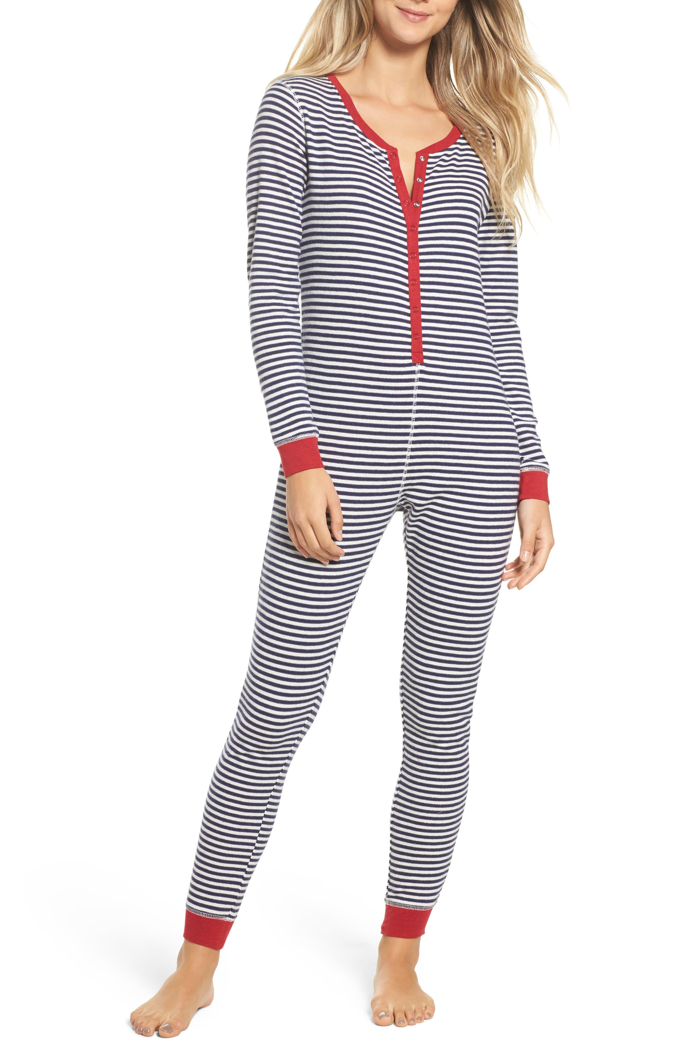 Make + Model Thermal One-Piece Pajamas
