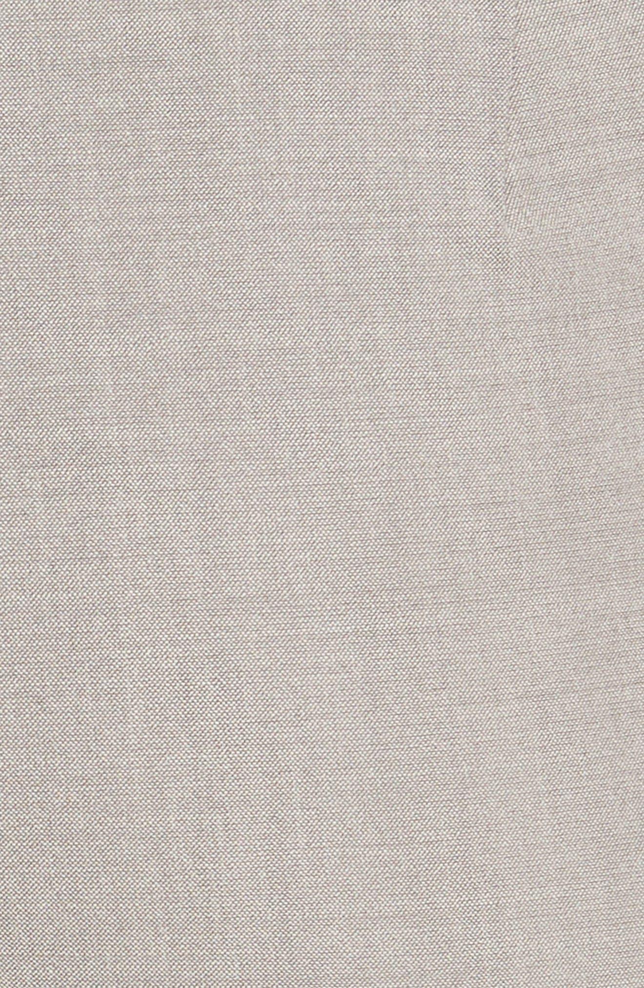 Manhattan Slim Pants,                             Alternate thumbnail 6, color,                             Feather Grey Melange