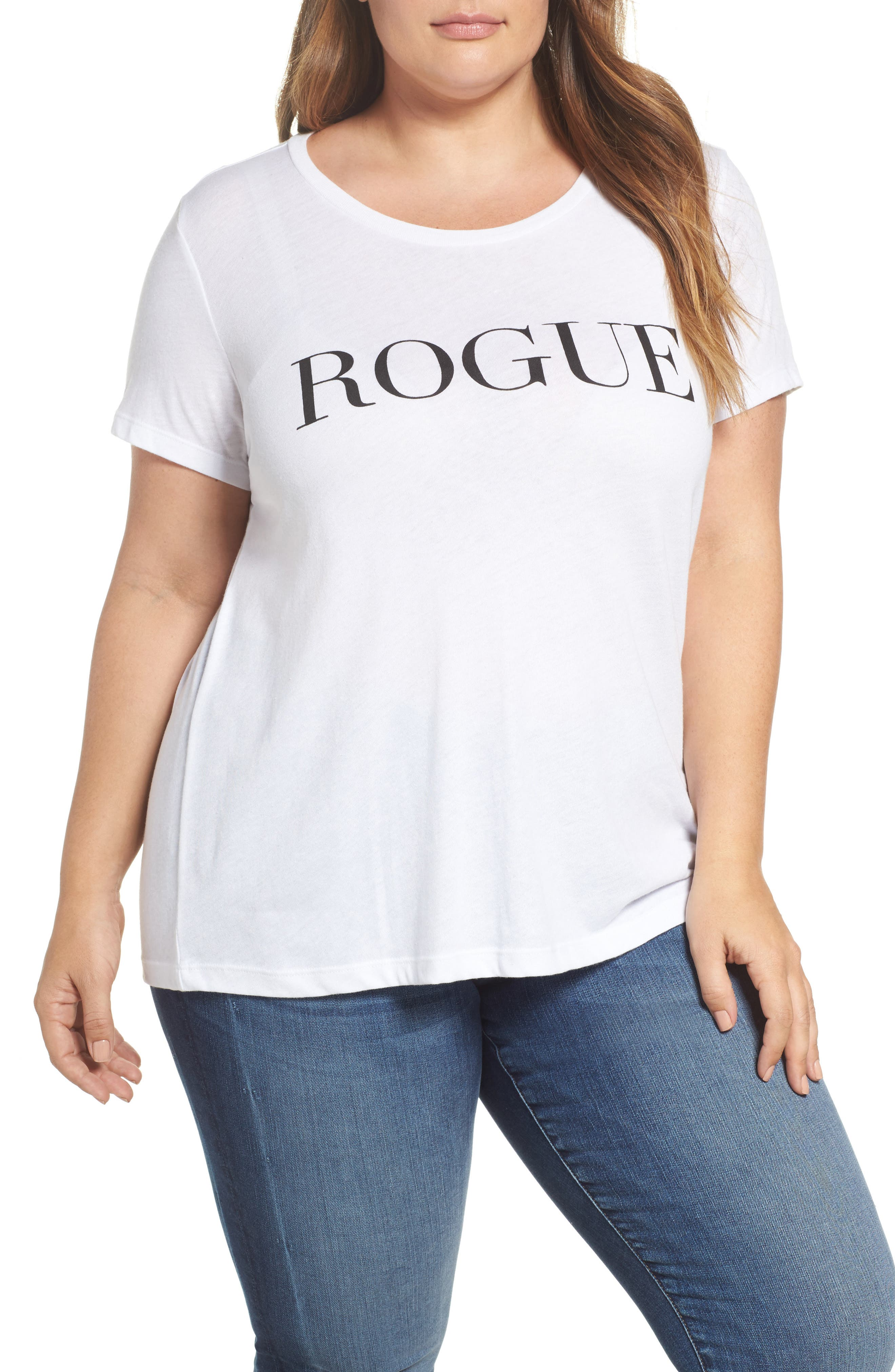 Main Image - Sub_Urban Riot Rogue Graphic Tee (Plus Size)