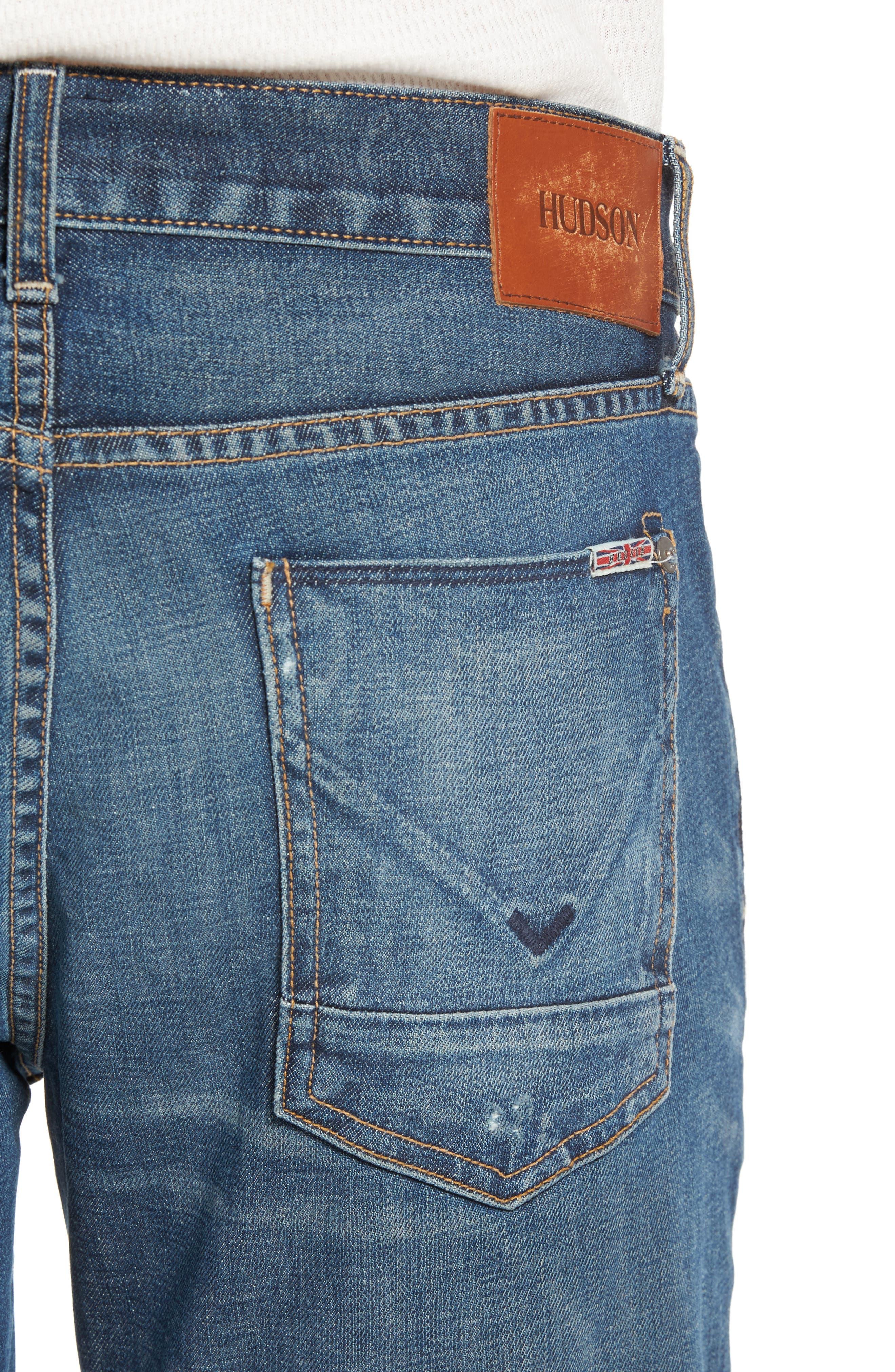 Alternate Image 4  - Hudson Jeans Blake Slim Fit Jeans (Scribe)