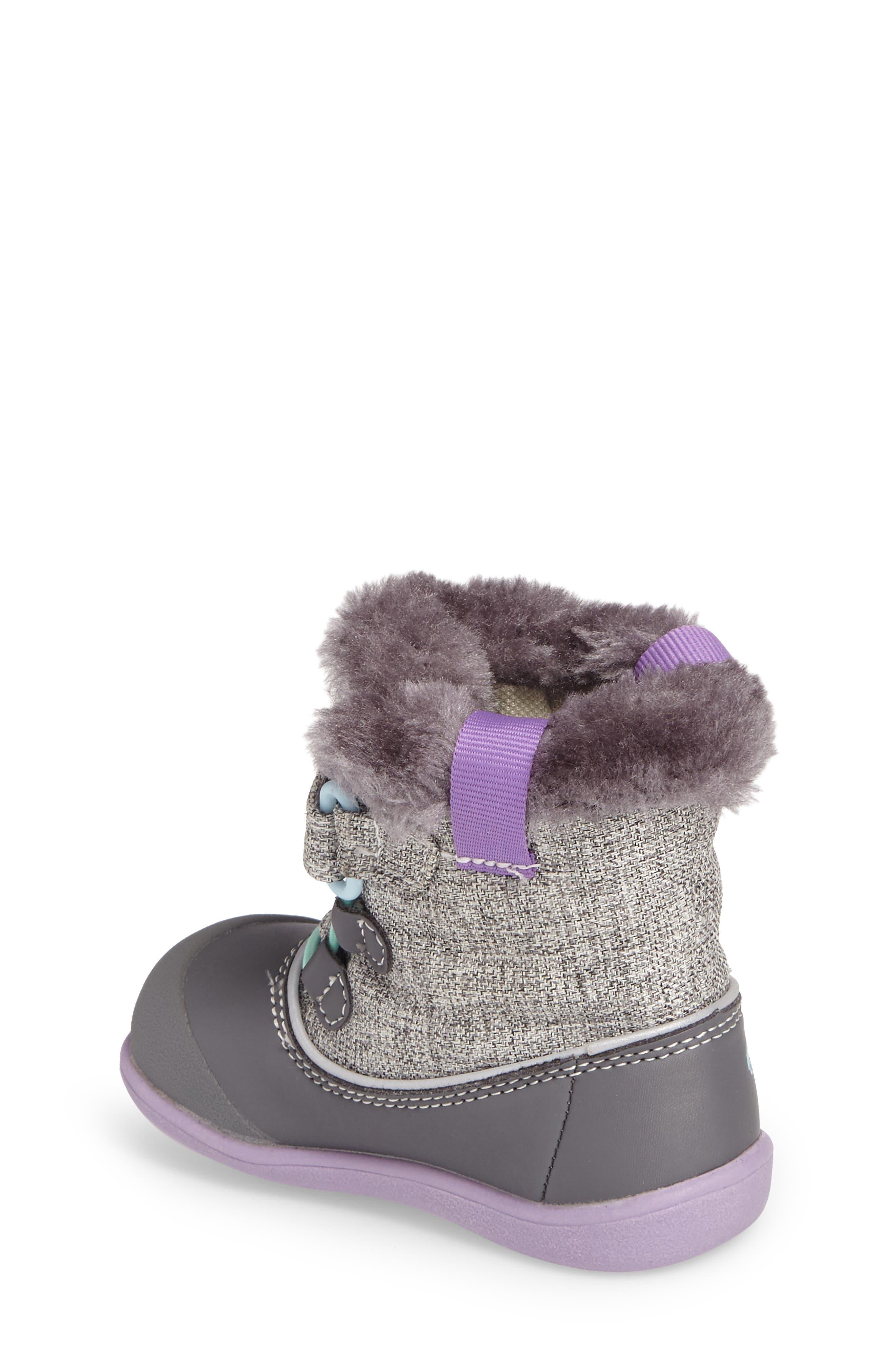 Alternate Image 2  - See Kai Run 'Abby' Waterproof Boot (Baby, Walker & Toddler)