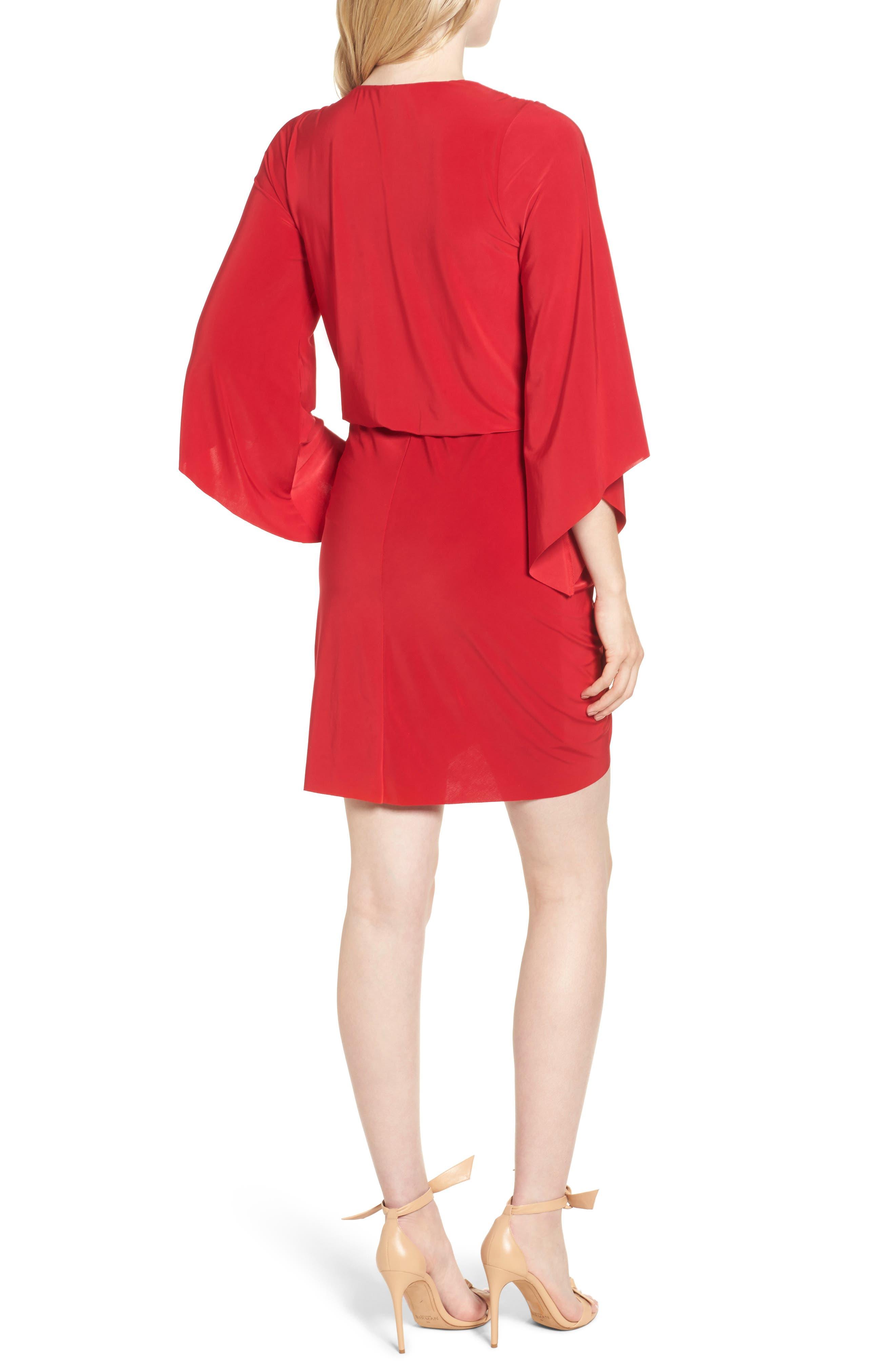 Alternate Image 2  - MISA Los Angeles Teget Knot Front Dress