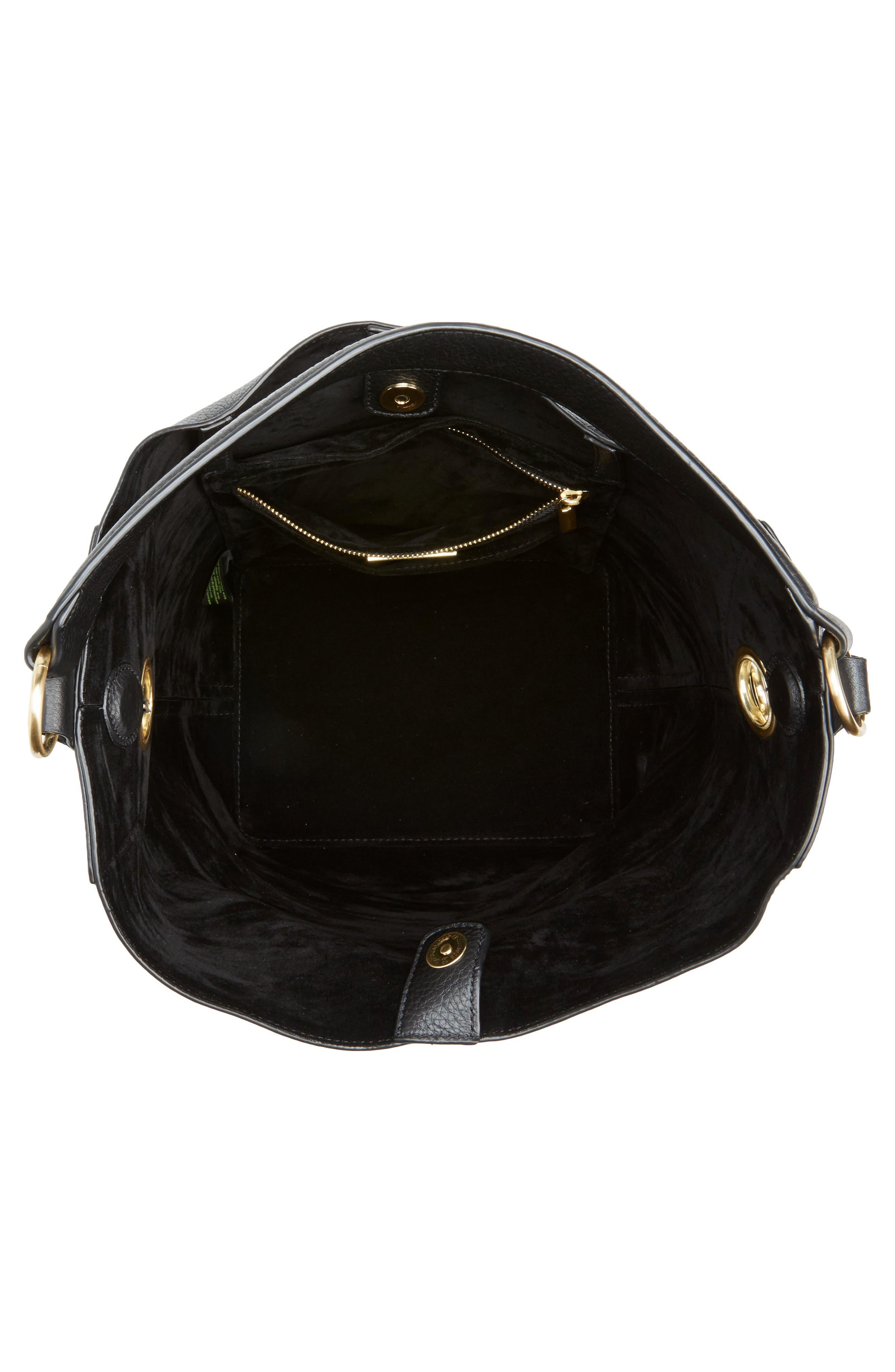 Alternate Image 4  - Sam Edelman Renee Leather Bucket Bag
