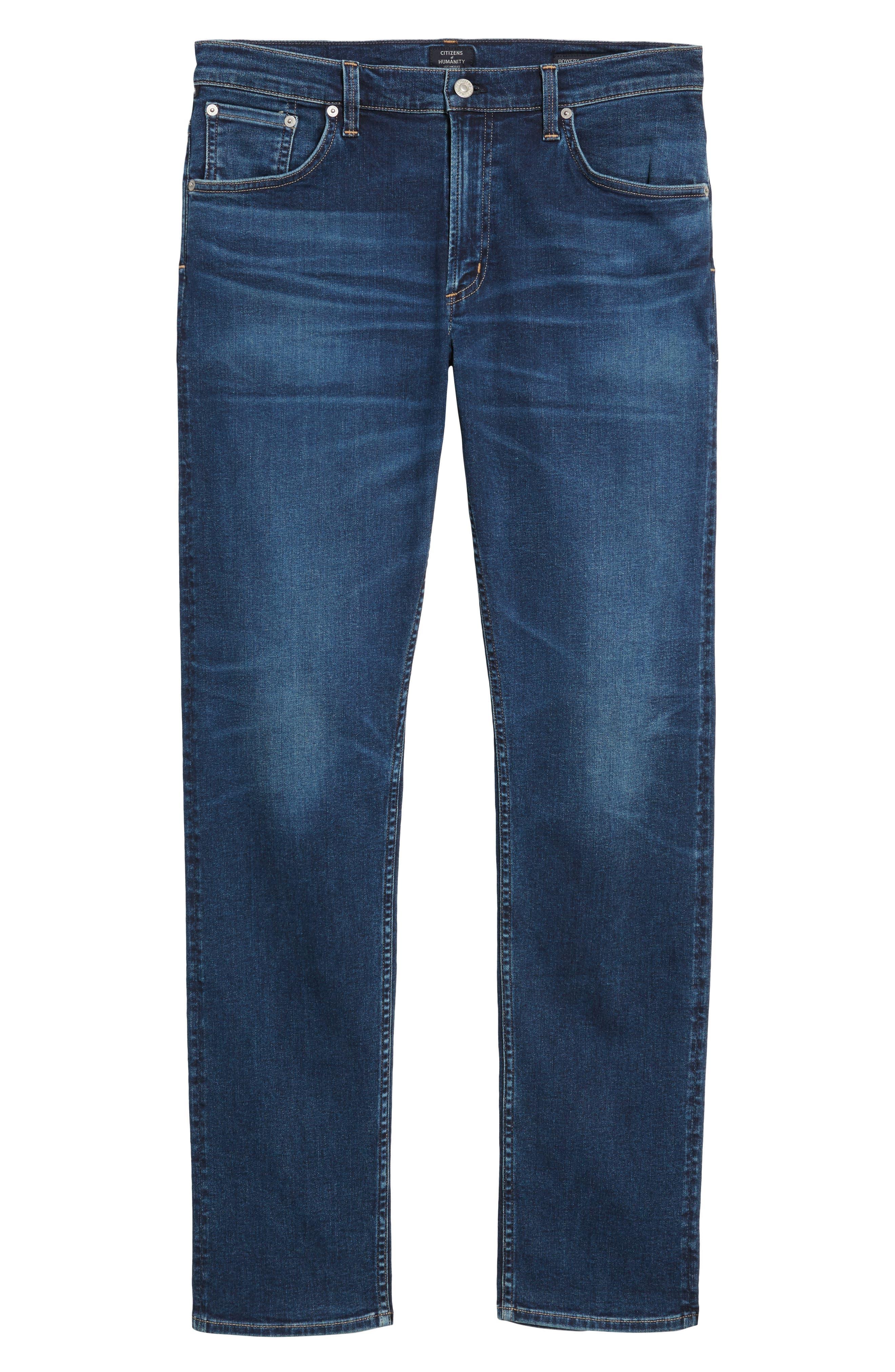 PERFORM - Gage Slim Straight Leg Jeans,                             Alternate thumbnail 6, color,                             Turner