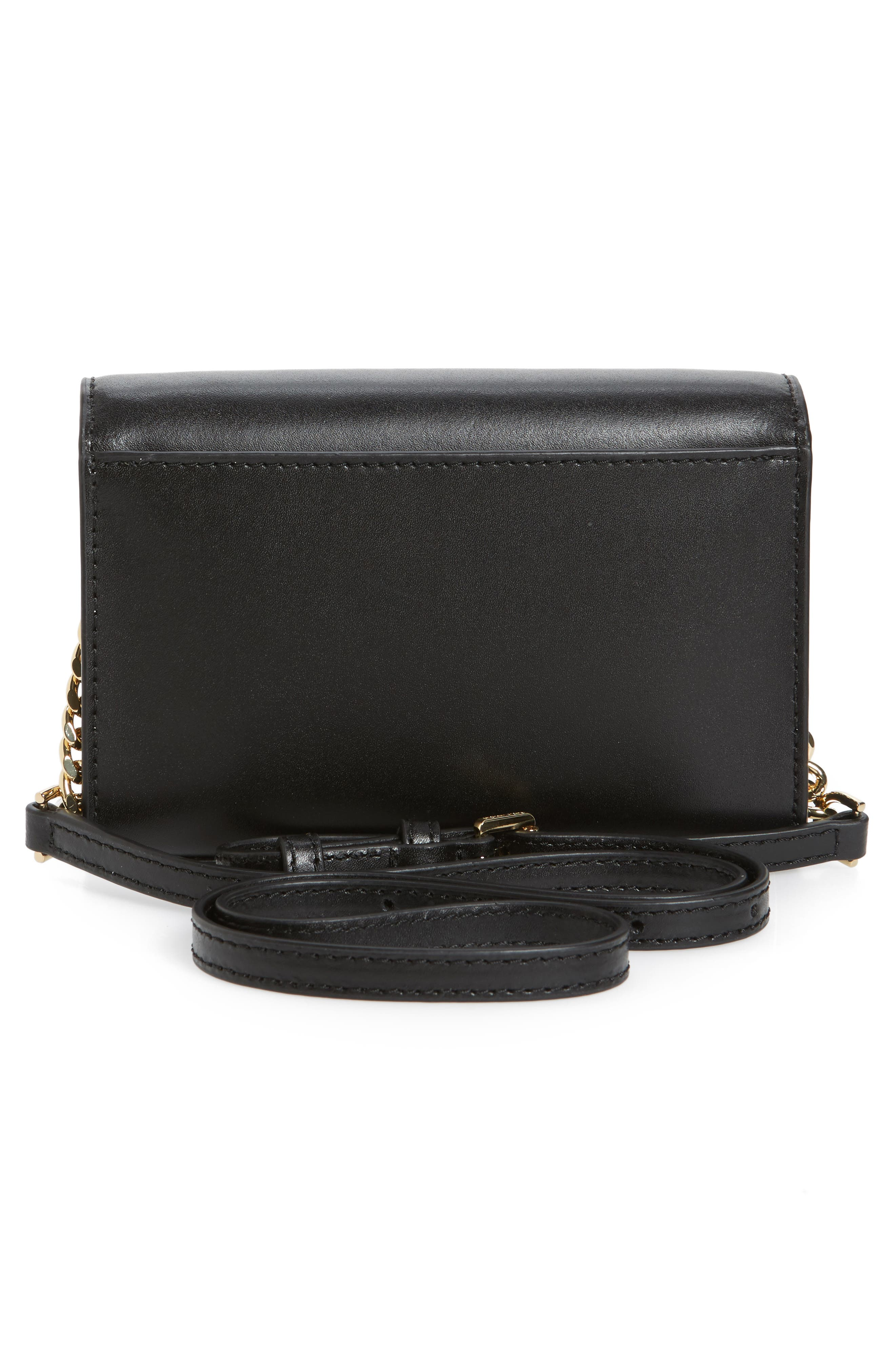 Alternate Image 3  - MICHAEL Michael Kors Medium Ruby Convertible Leather Clutch