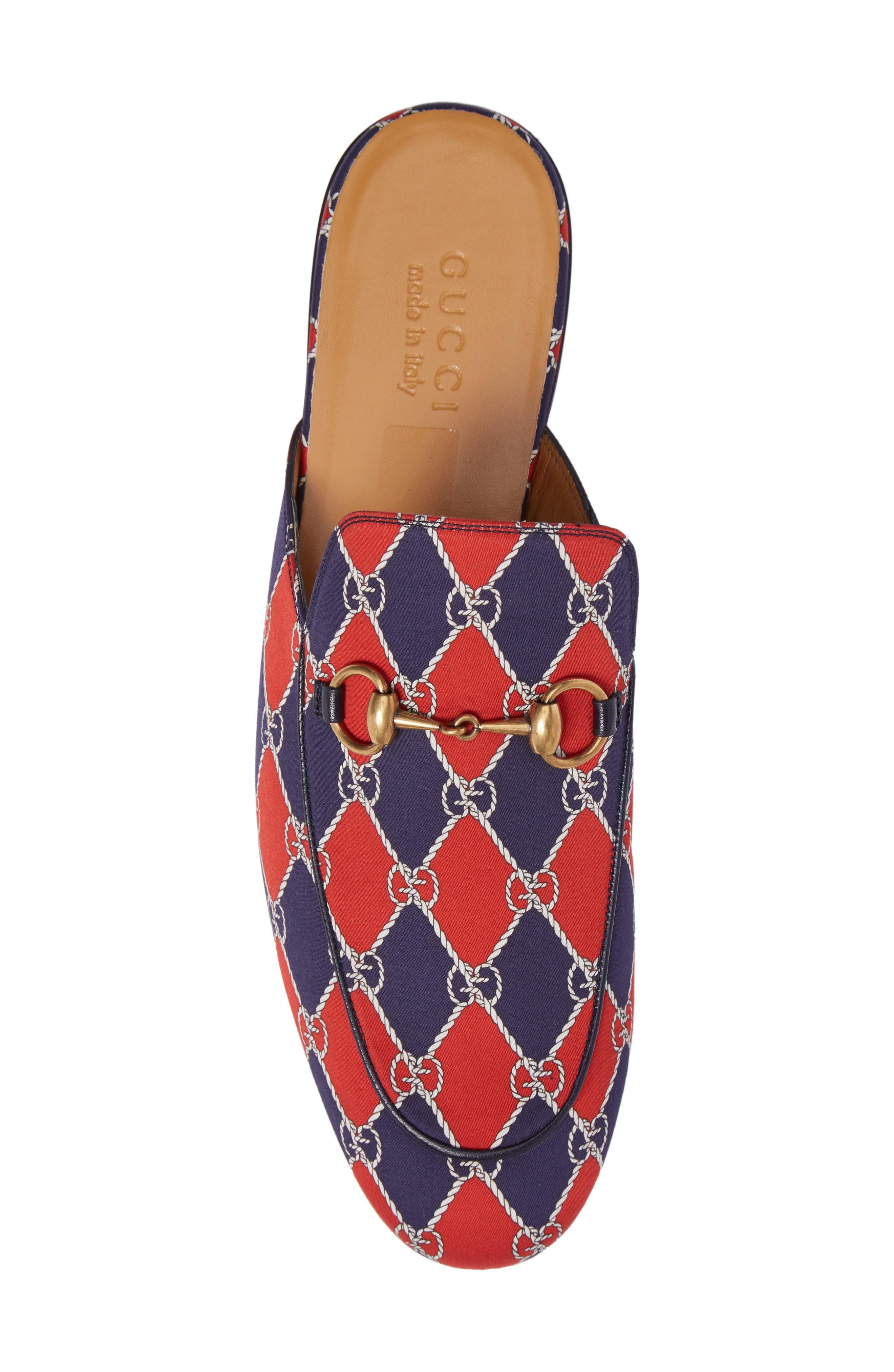 Alternate Image 5  - Gucci King's Harlequin Bit Loafer (Men)