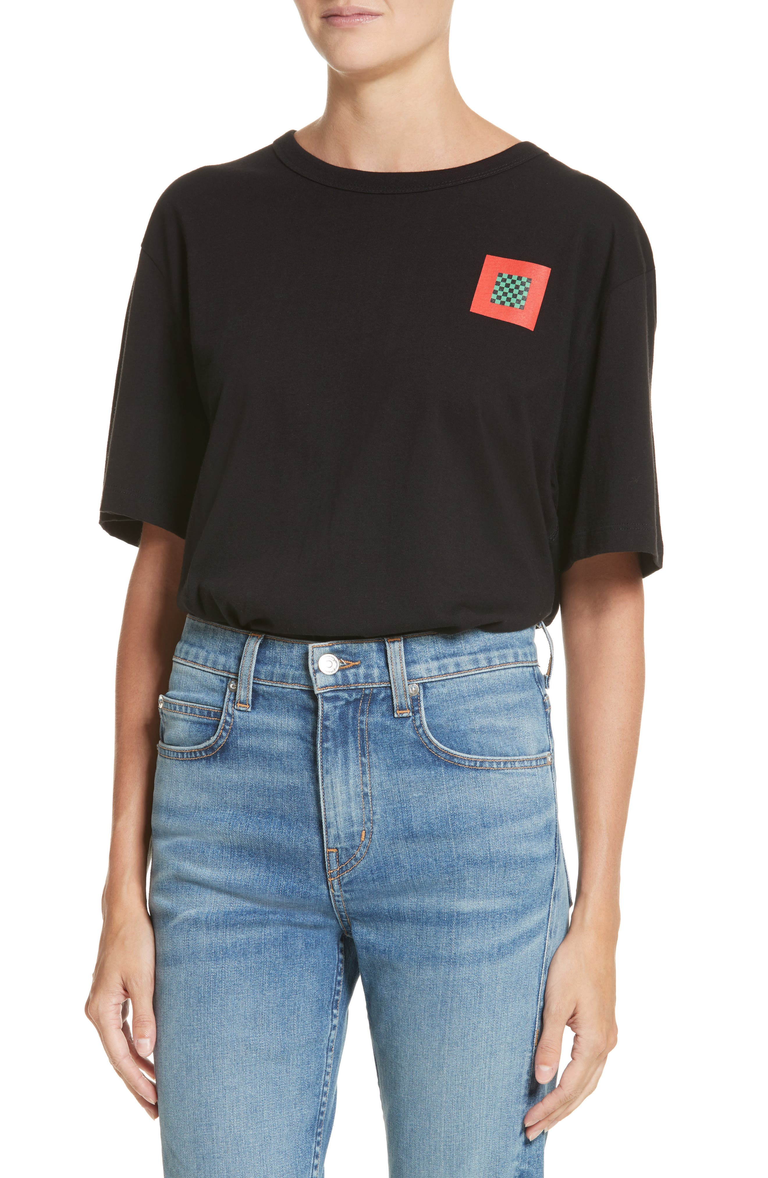 Alternate Image 1 Selected - Proenza Schouler PSWL Graphic Jersey Tee