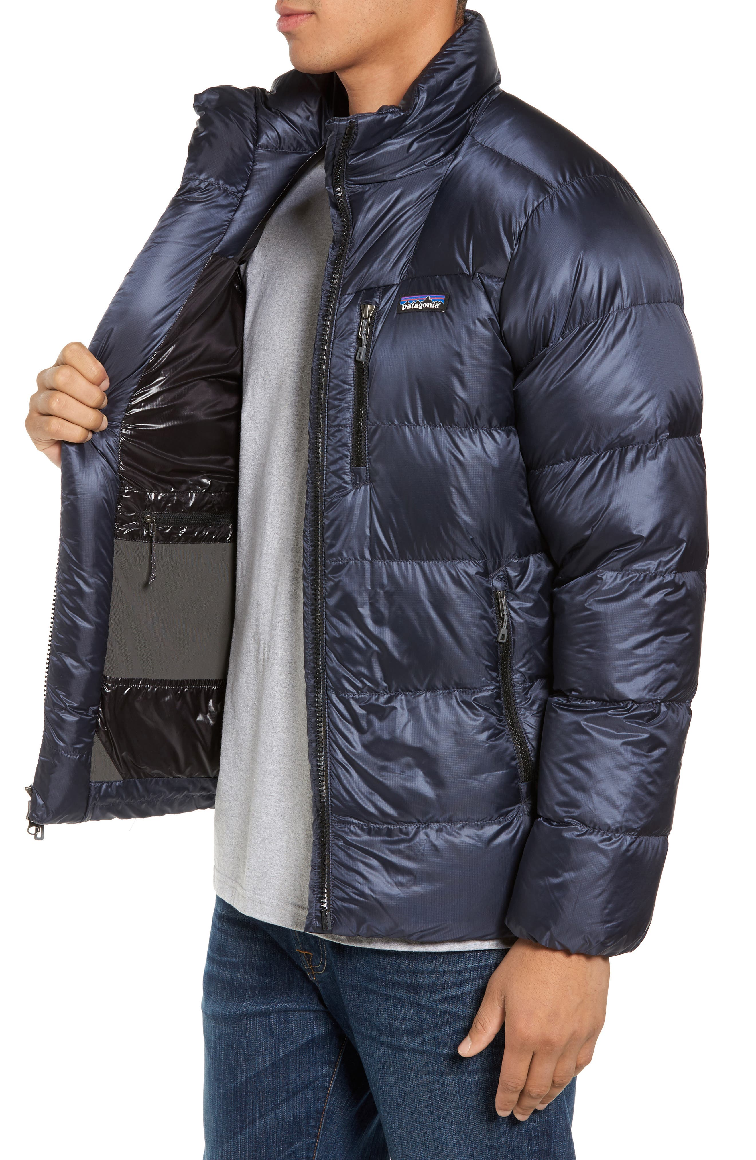Alternate Image 3  - Patagonia Fitz Roy Water Repellent 800-Fill-Power Down Parka