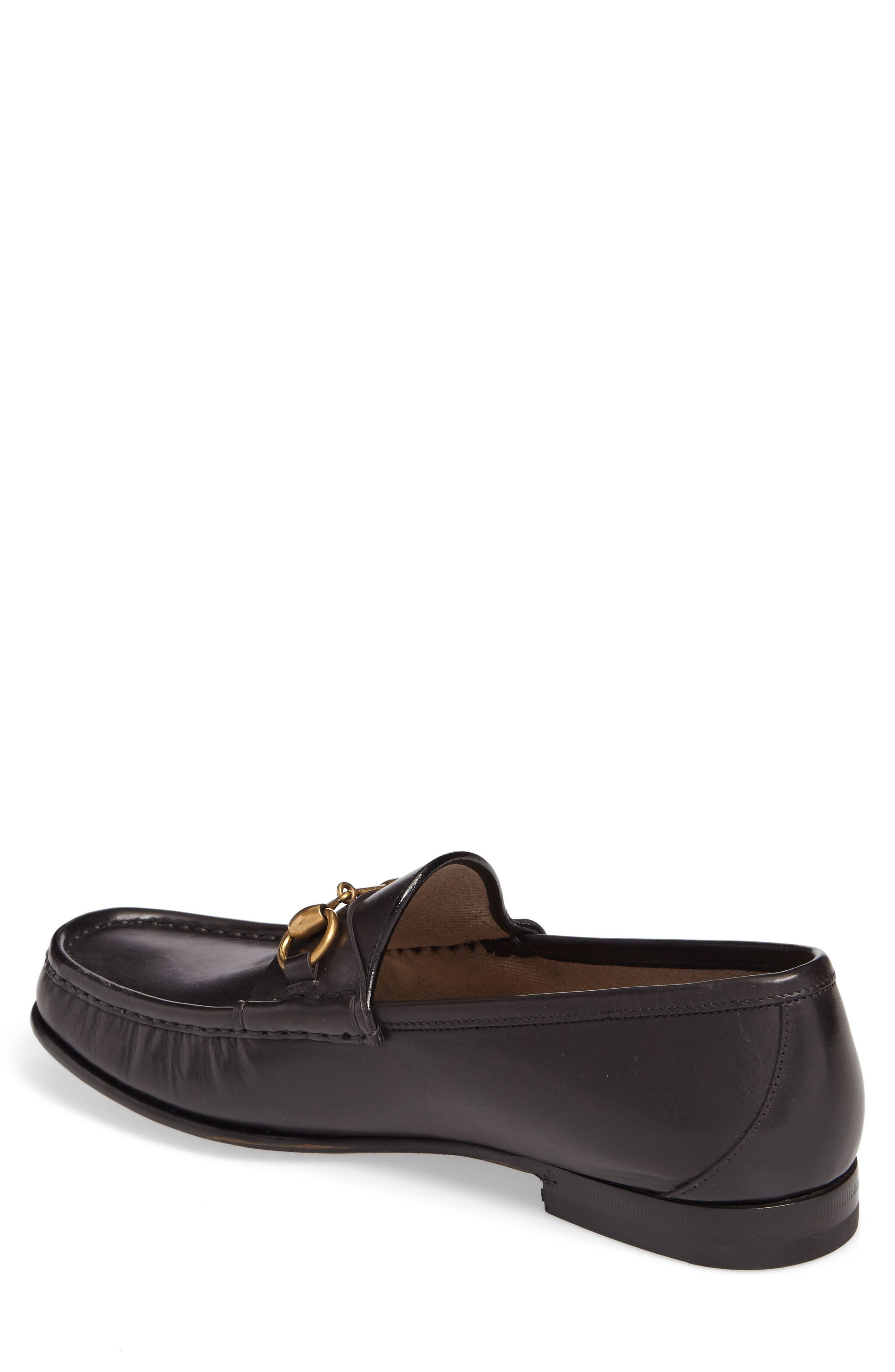 'Roos' Bit Loafer,                             Alternate thumbnail 2, color,                             Nero