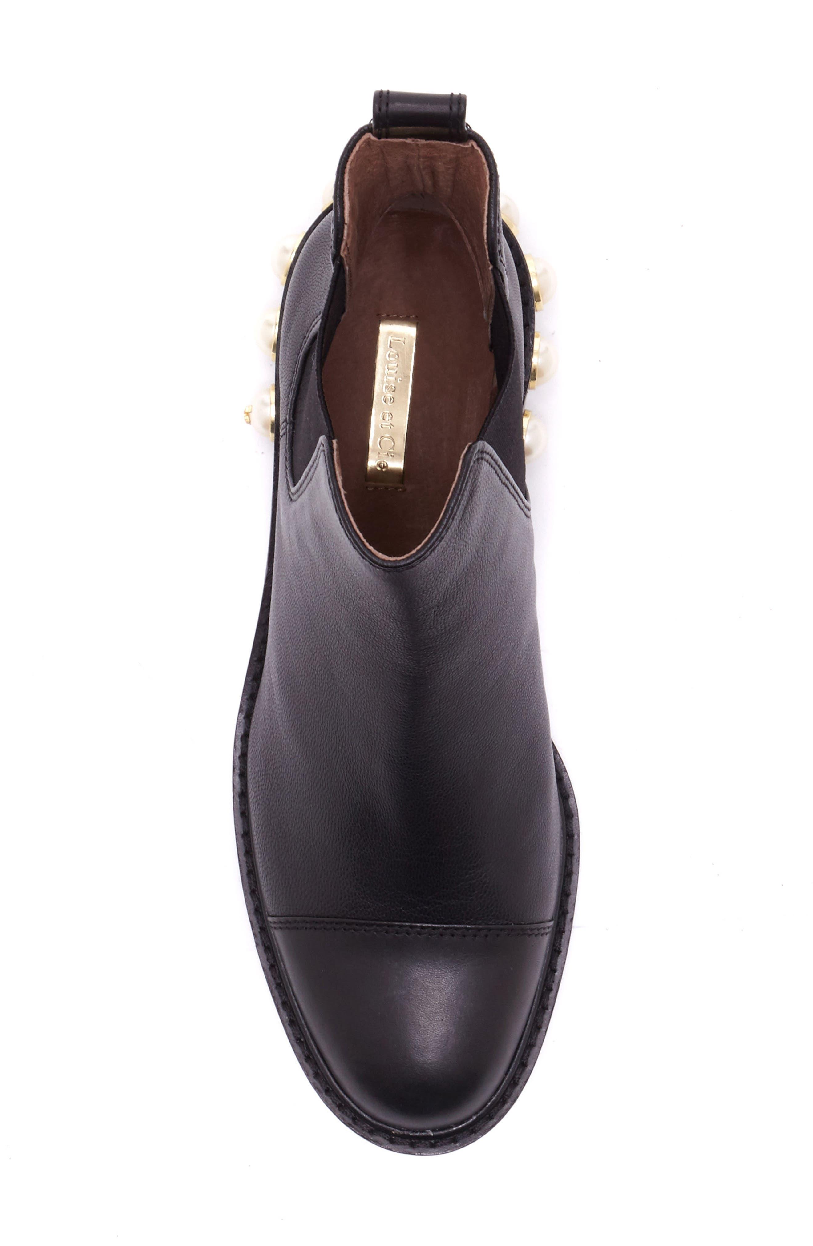 Alternate Image 4  - Louise et Cie Vinn Imitation Pearl Boot (Women)