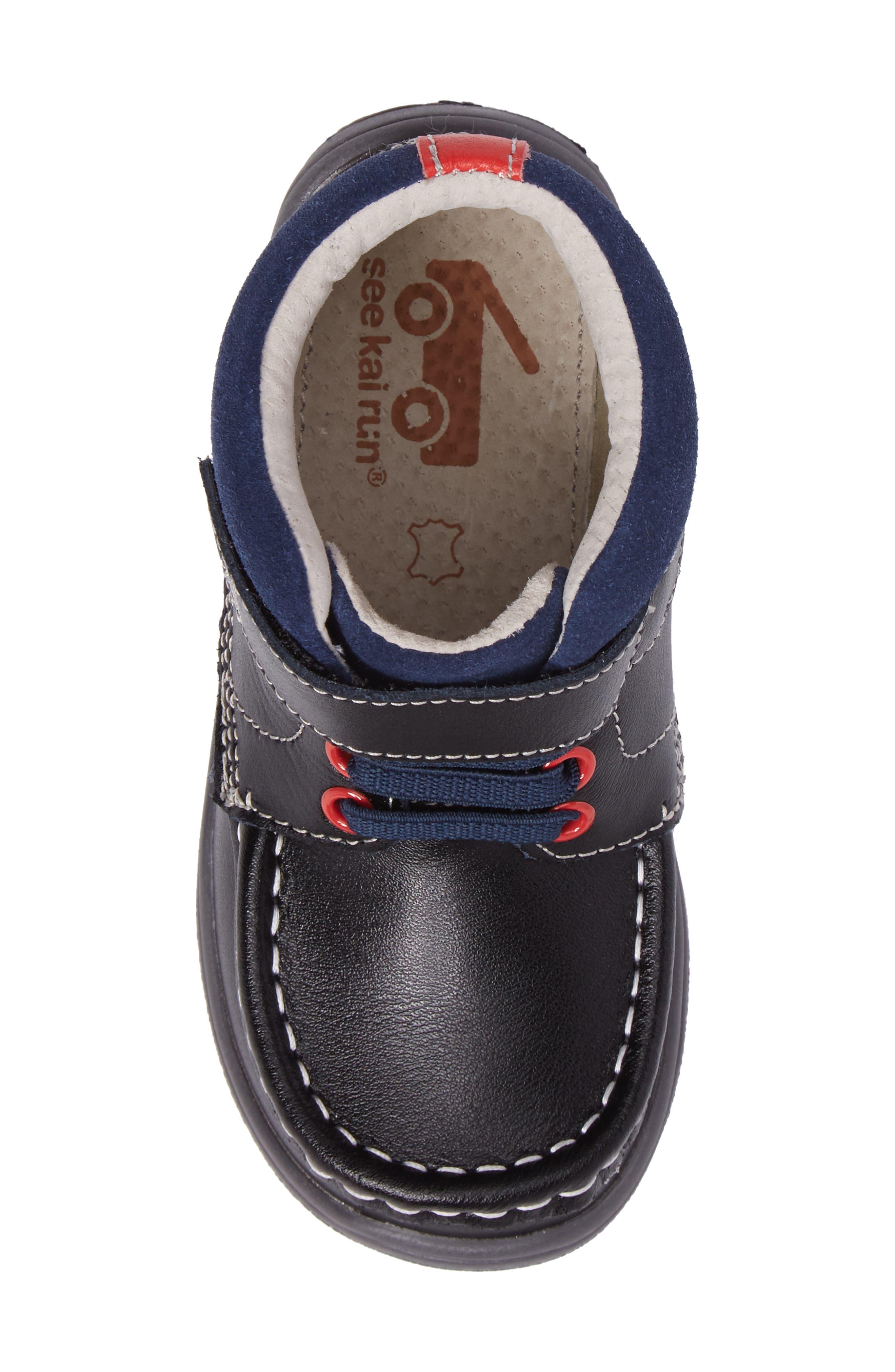 Alternate Image 5  - See Kai Run Owen High Top Sneaker Bootie (Baby, Walker & Toddler)