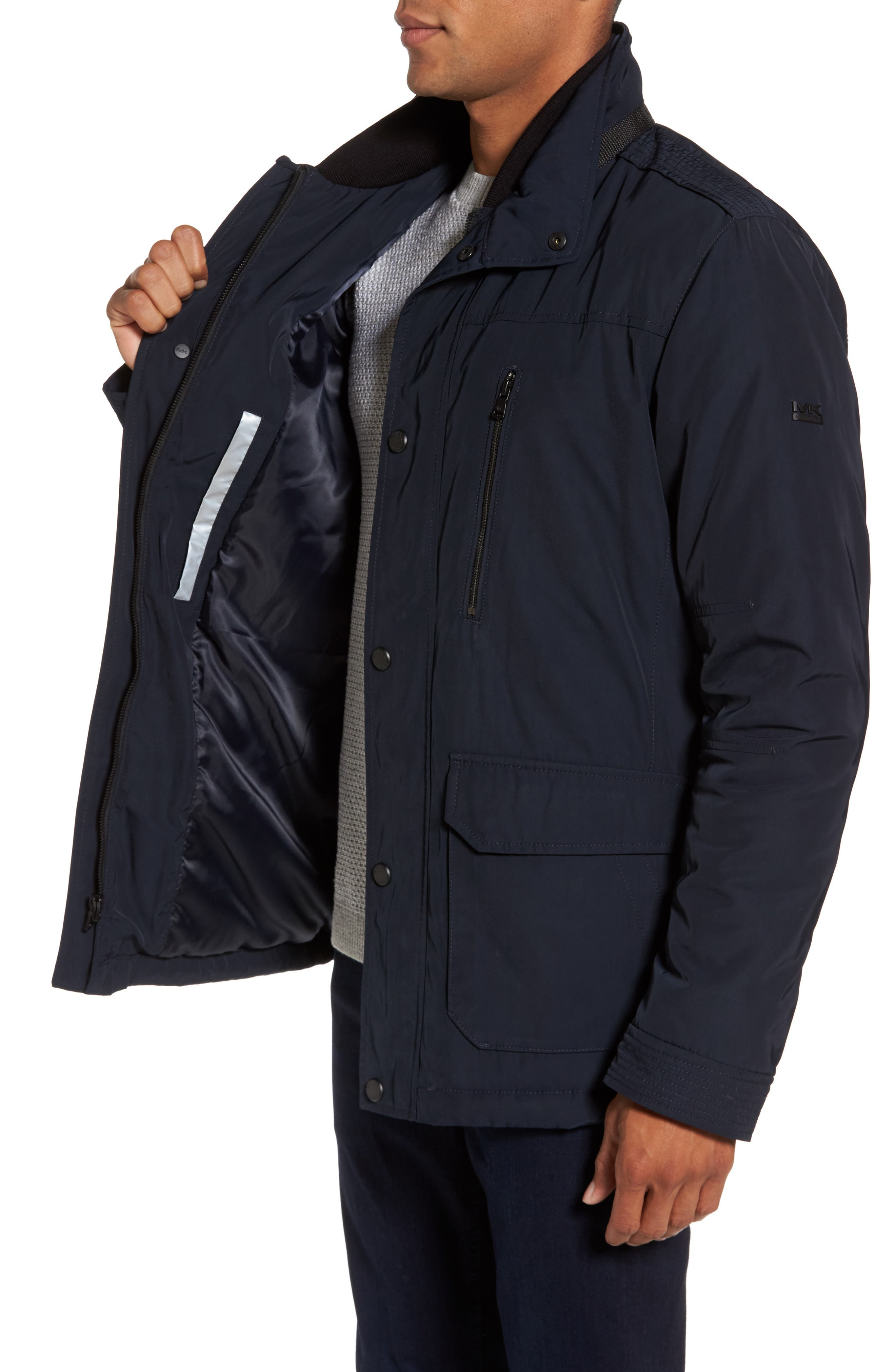 Field Coat,                             Alternate thumbnail 3, color,                             Midnight Blue