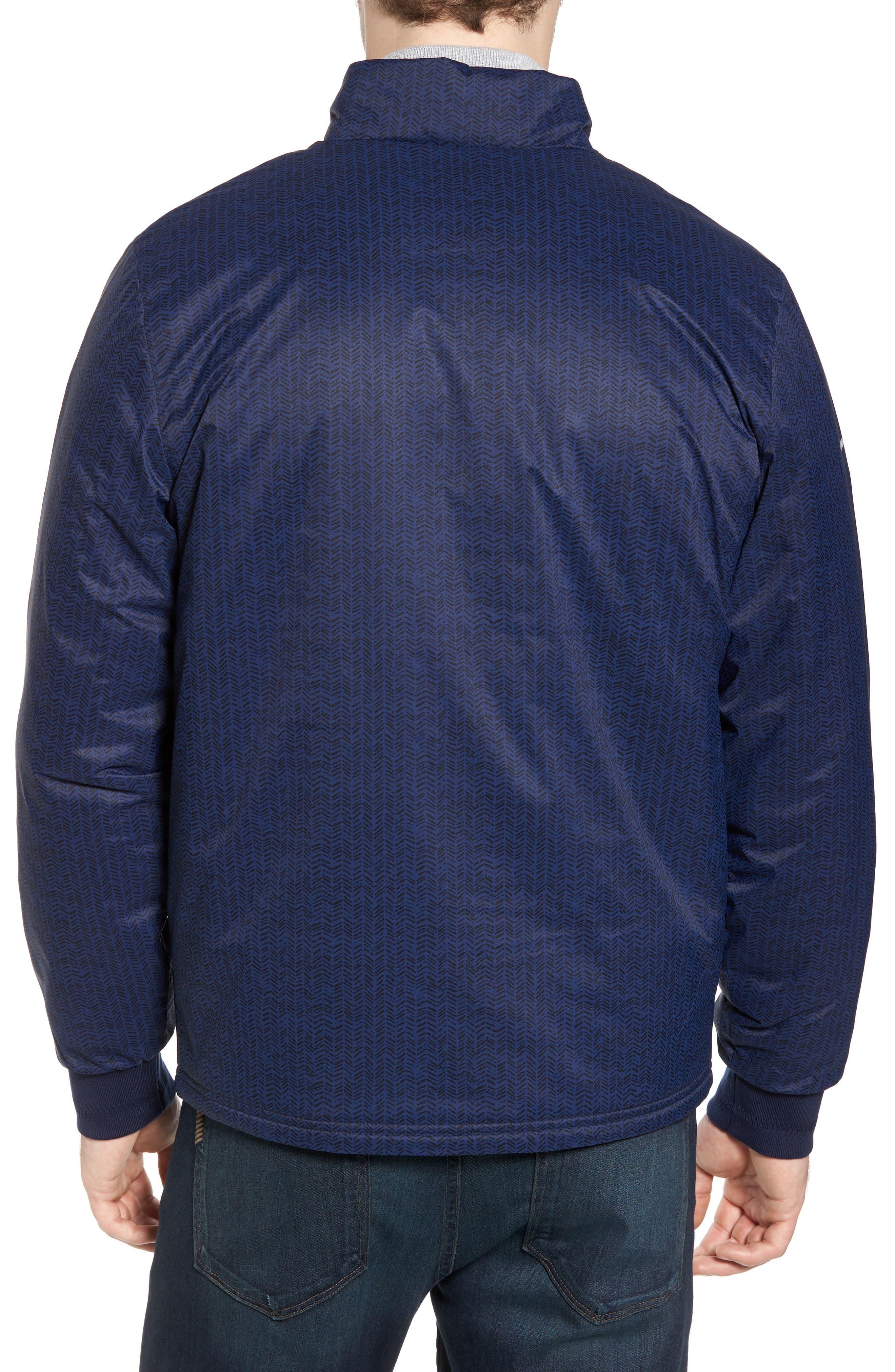 Herringbone Zip-Up Jacket,                             Alternate thumbnail 2, color,                             Navy Blue/ Navy Blue