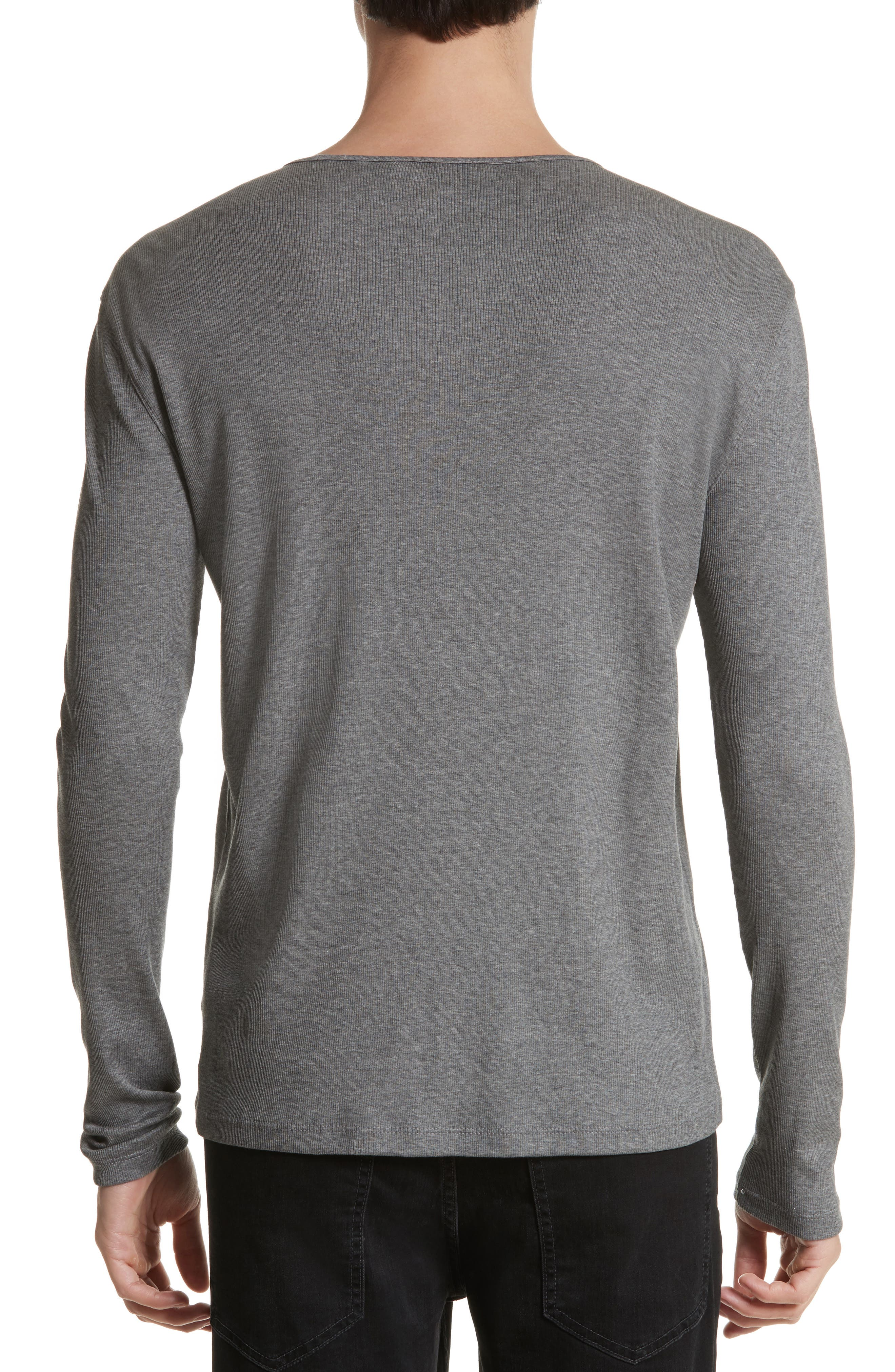 Alternate Image 2  - John Varvatos Collection Tab Crewneck T-Shirt