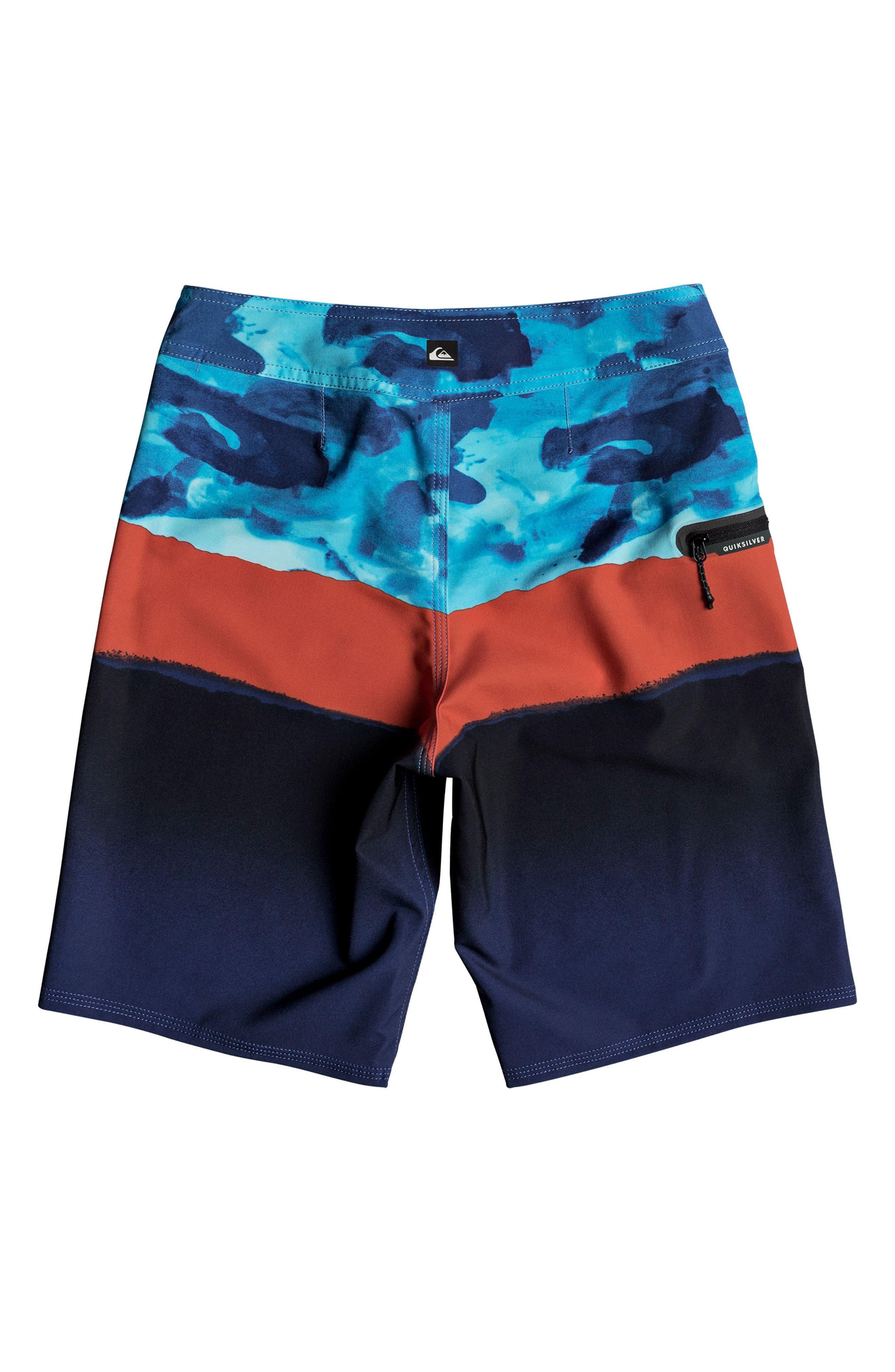 Alternate Image 2  - Quiksilver Blocked Resin Camo Board Shorts (Big Boys)